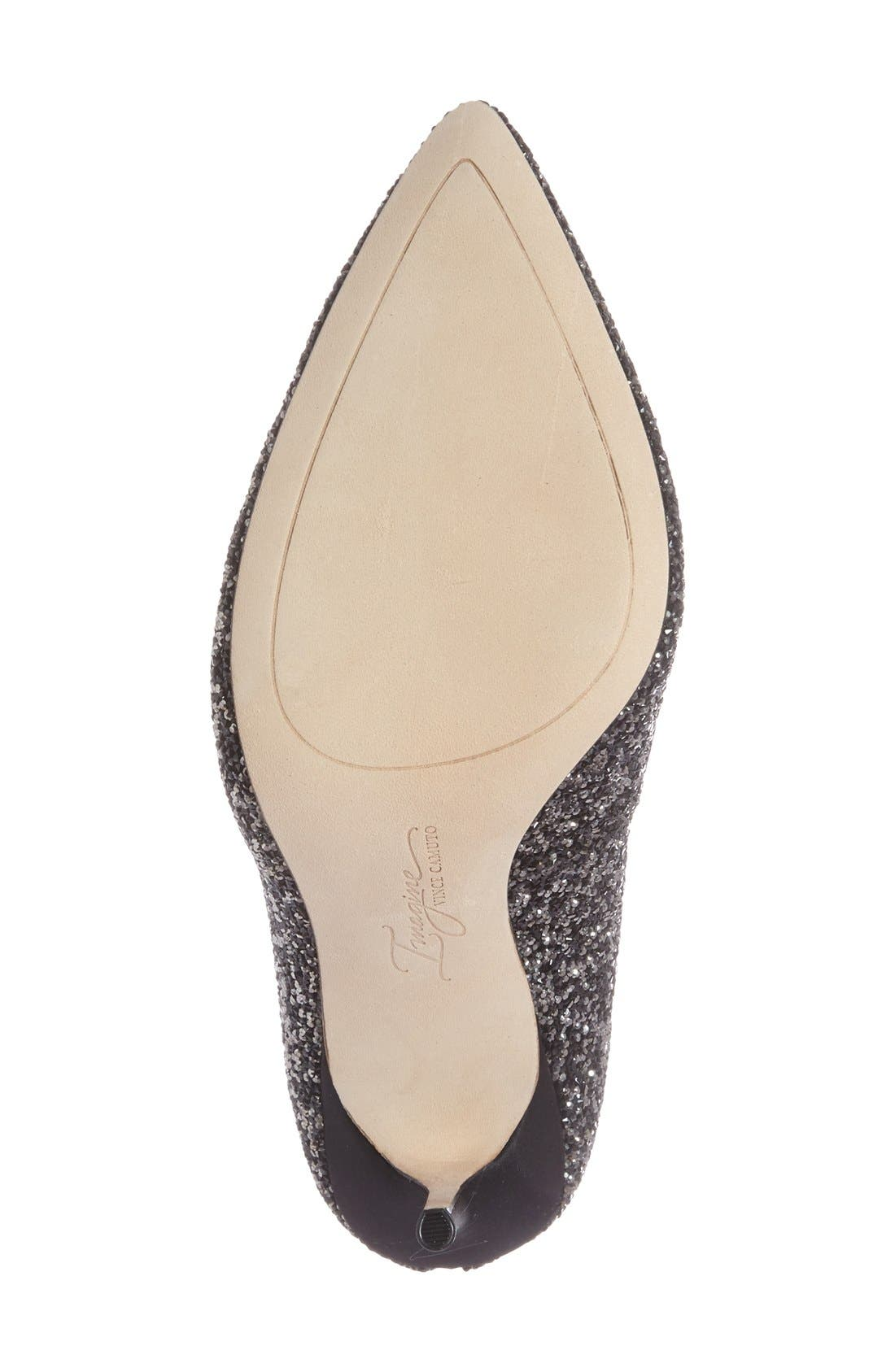 IMAGINE BY VINCE CAMUTO, 'Olson' Crystal Embellished Pump, Alternate thumbnail 4, color, 002