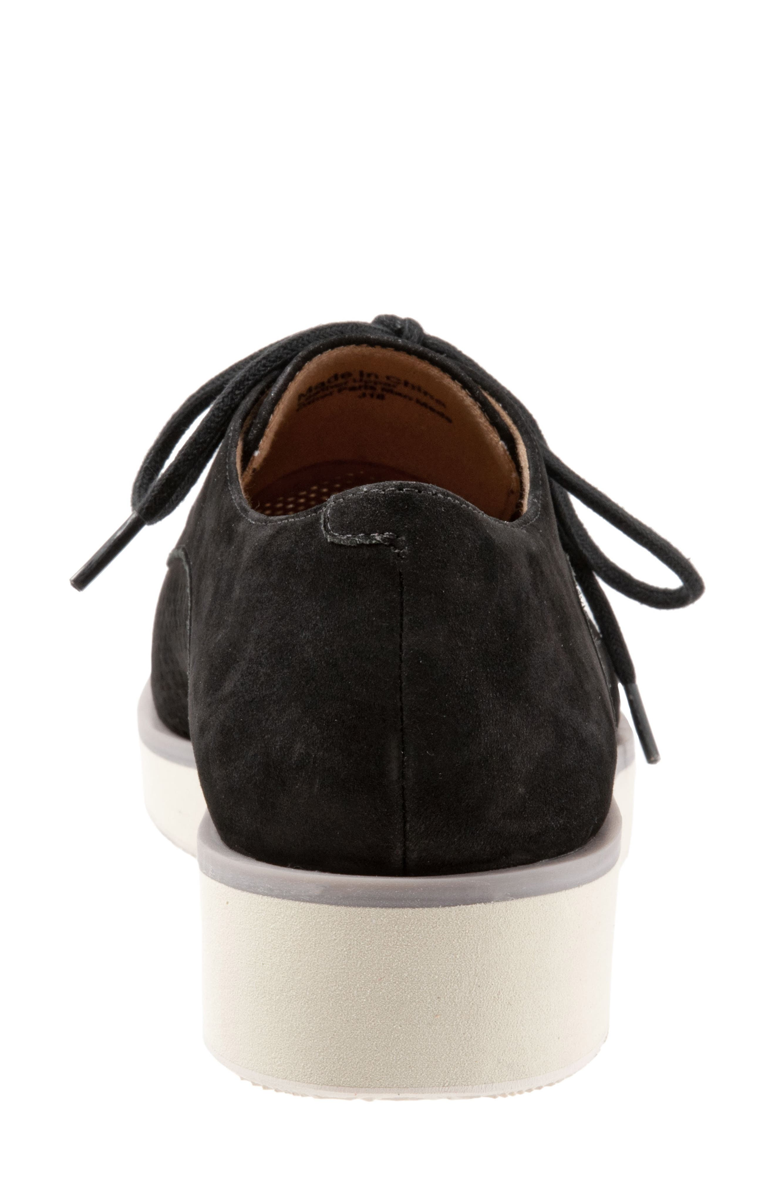 SOFTWALK<SUP>®</SUP>, Willis Derby, Alternate thumbnail 7, color, ONYX LEATHER