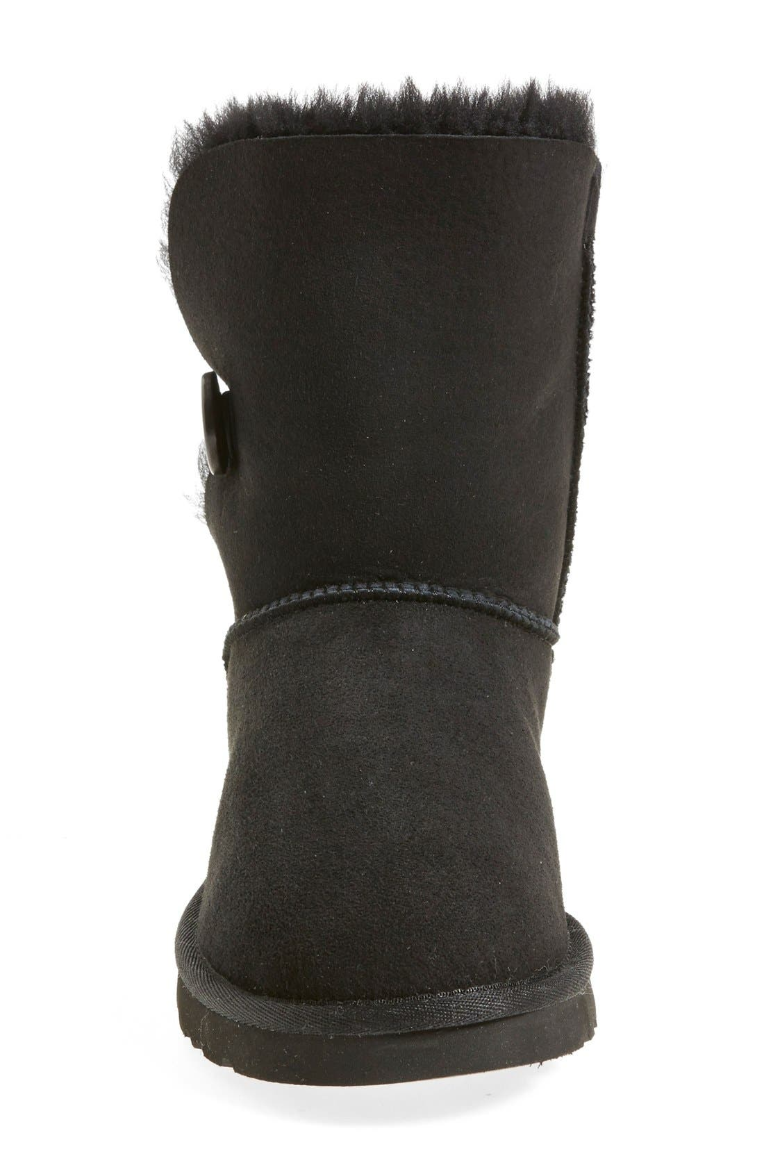 UGG<SUP>®</SUP>, 'Bailey Button' Boot, Alternate thumbnail 3, color, 001