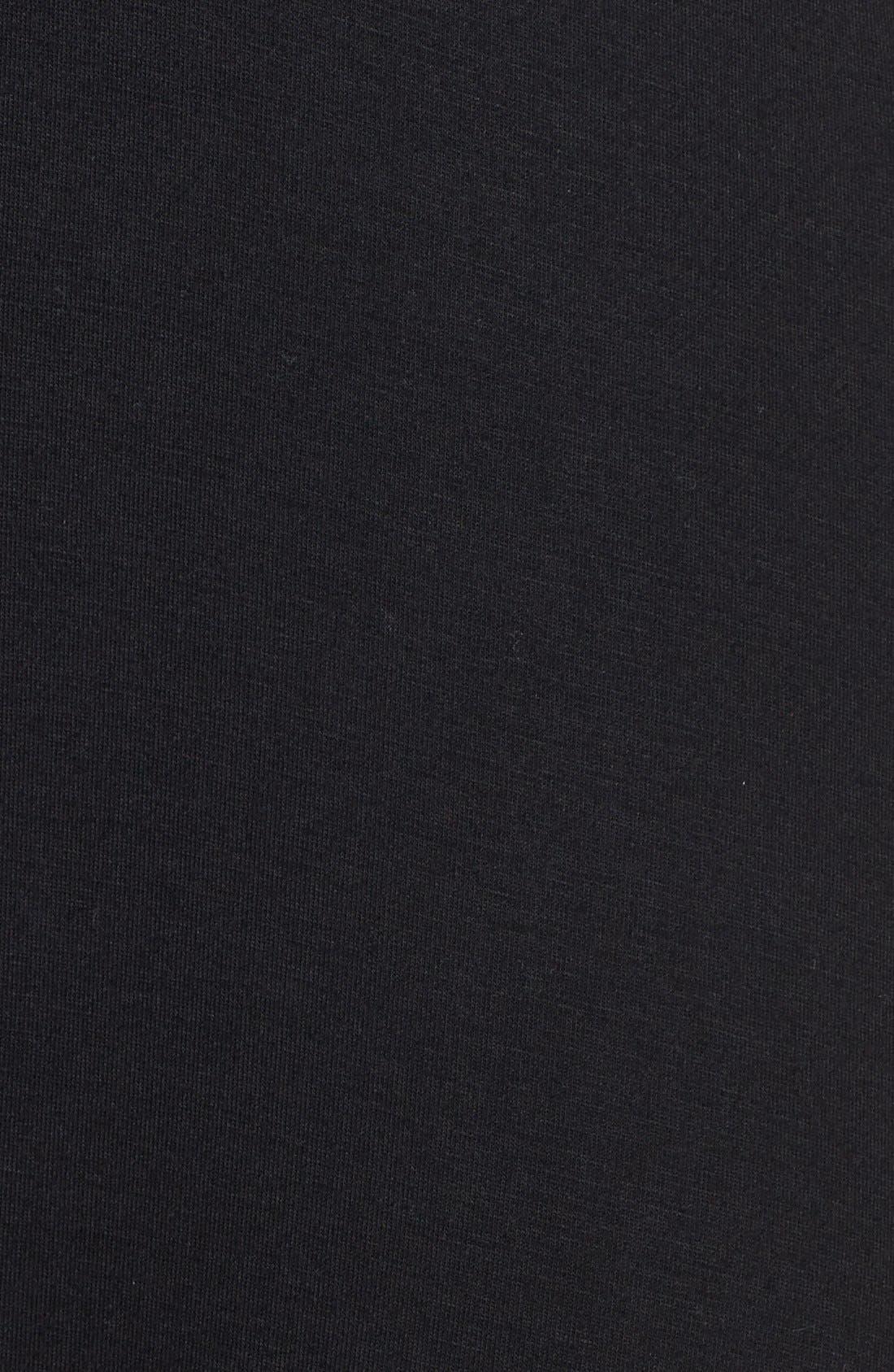 LOVEAPPELLA, Knit Maxi Dress, Alternate thumbnail 9, color, BLACK
