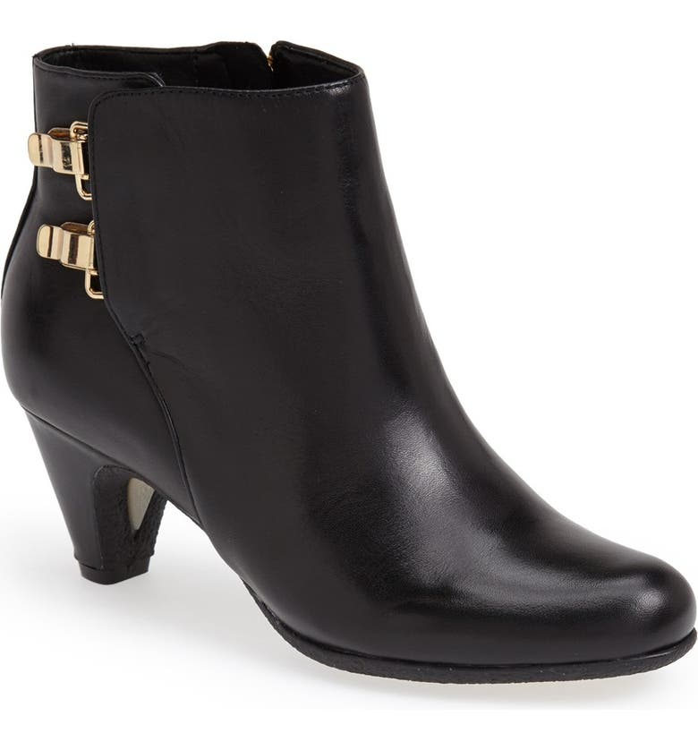 ec247c9b2 Sam Edelman  Marmont  Leather Bootie (Women)