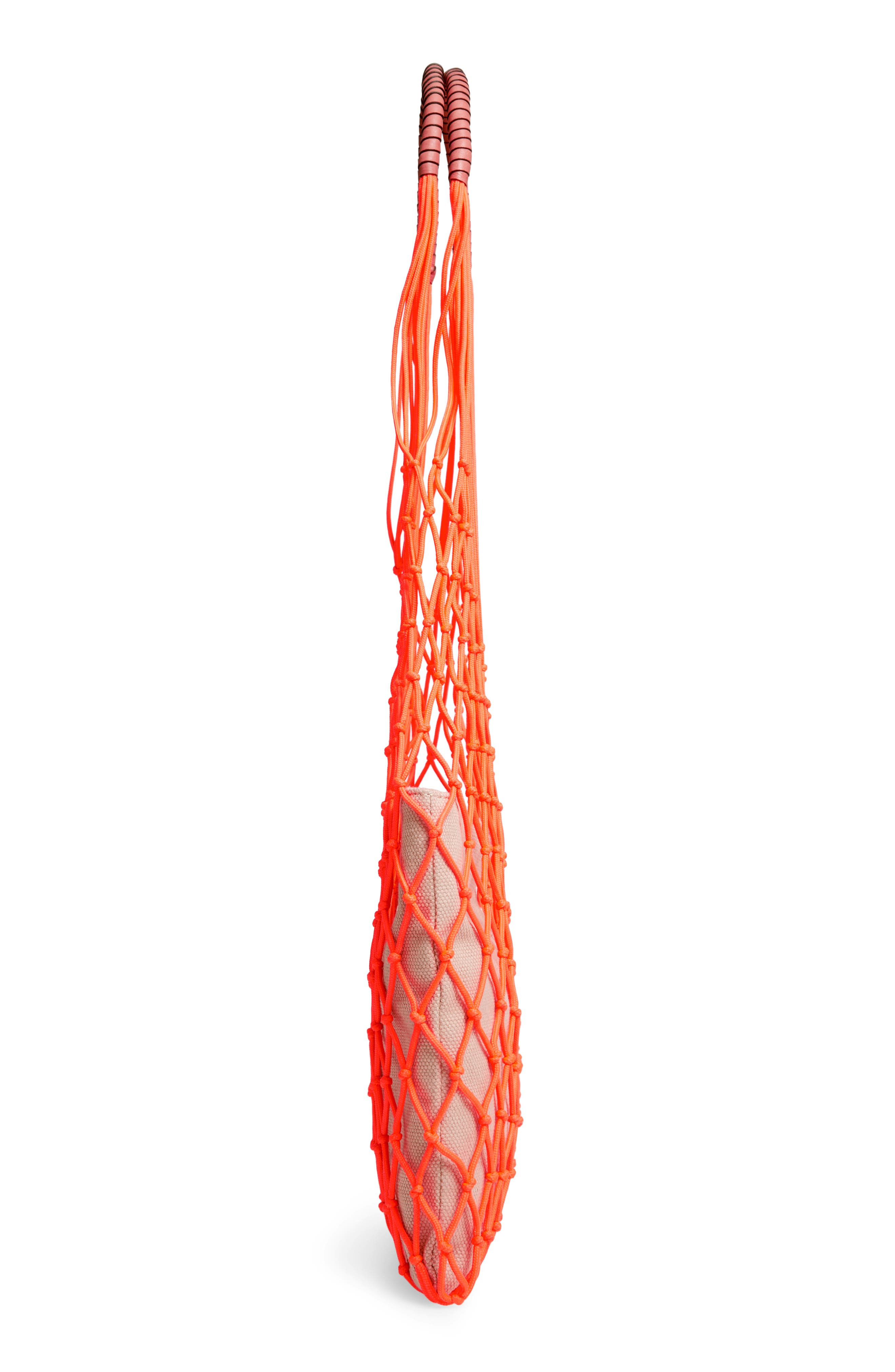 VINCE CAMUTO, Zest Tote, Alternate thumbnail 6, color, FIERY CORAL