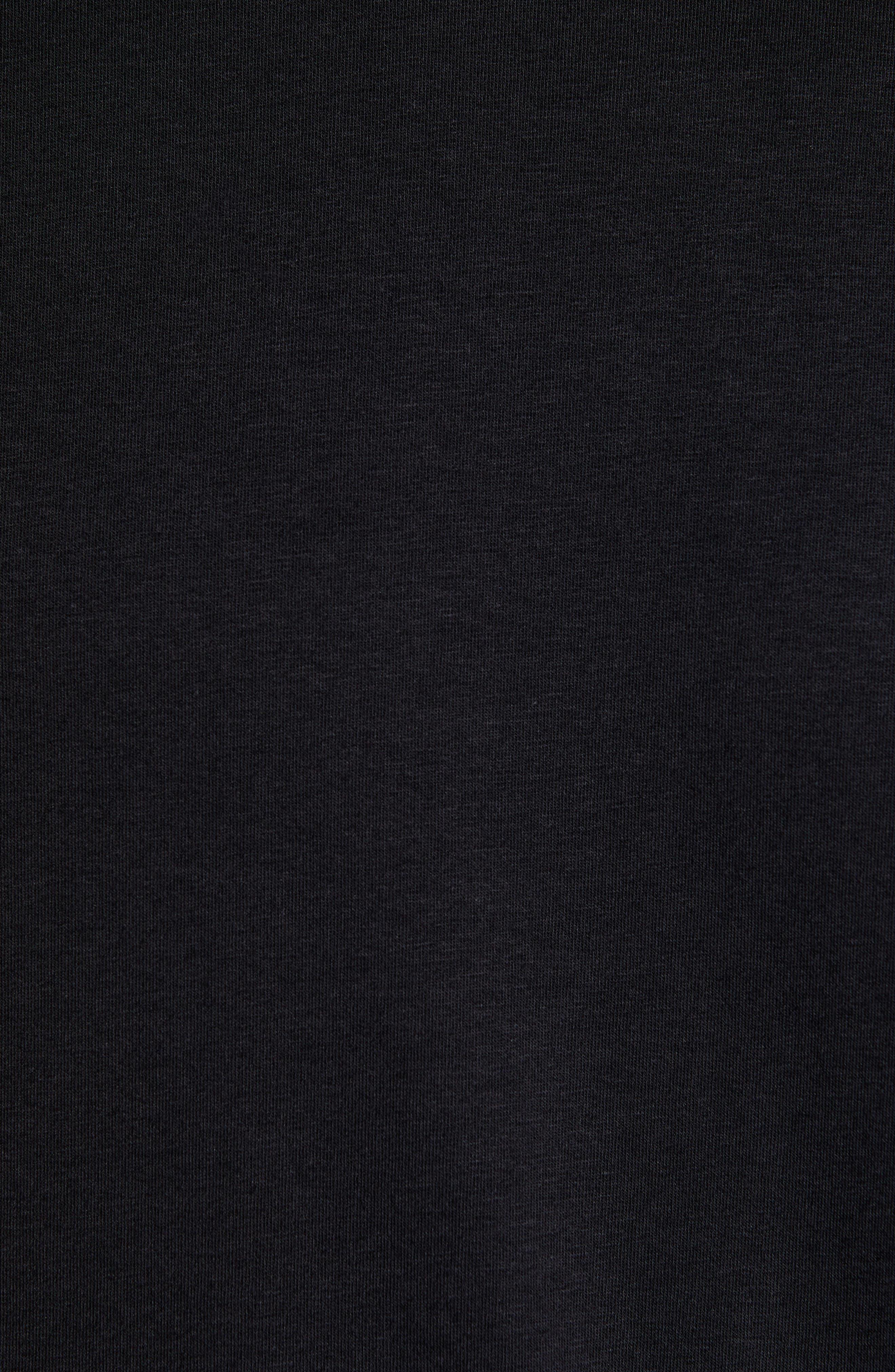 TASC PERFORMANCE, Carrollton T-Shirt, Alternate thumbnail 5, color, BLACK