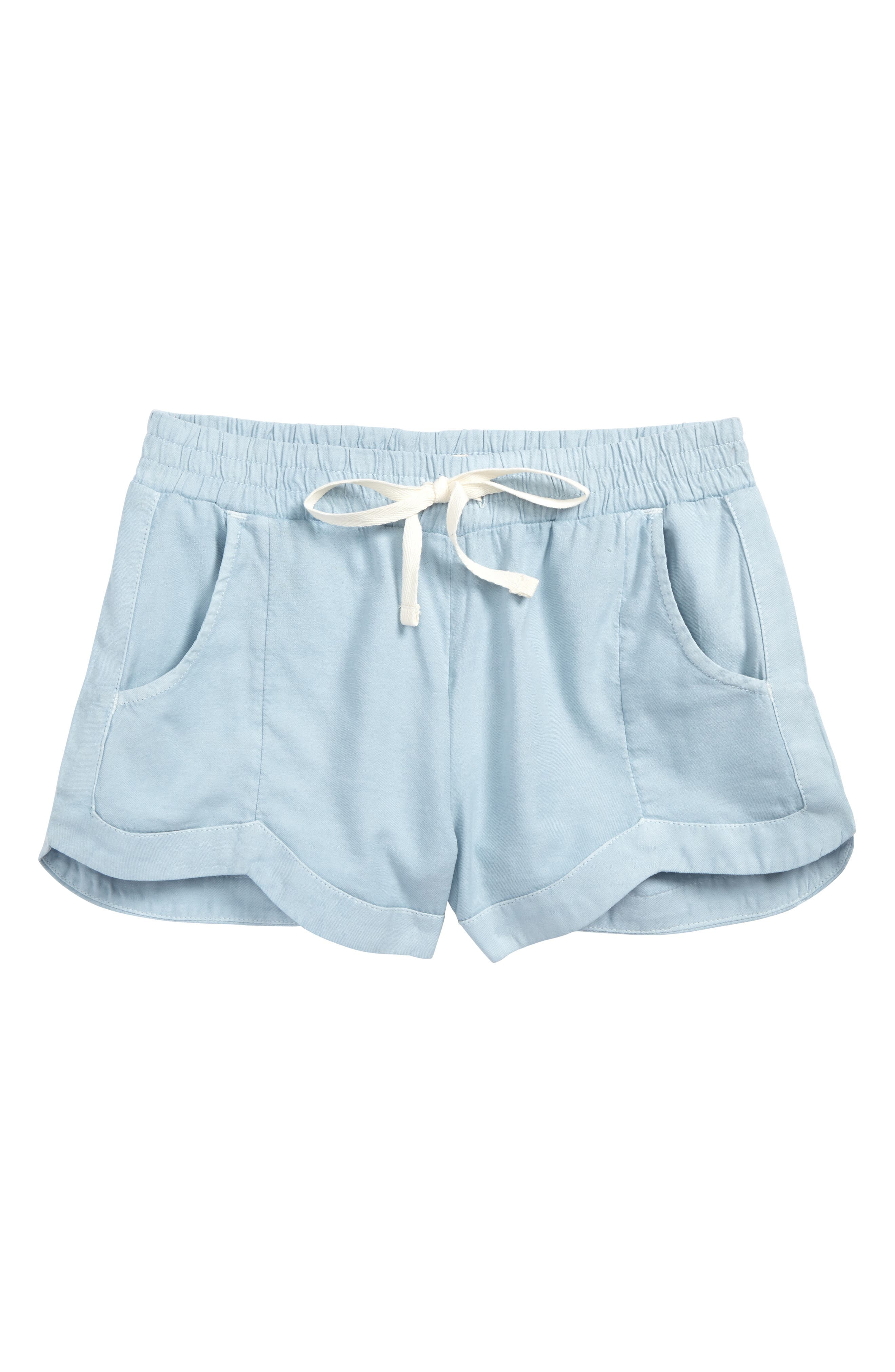 BILLABONG, Made For You Woven Shorts, Main thumbnail 1, color, CHAMBRAY