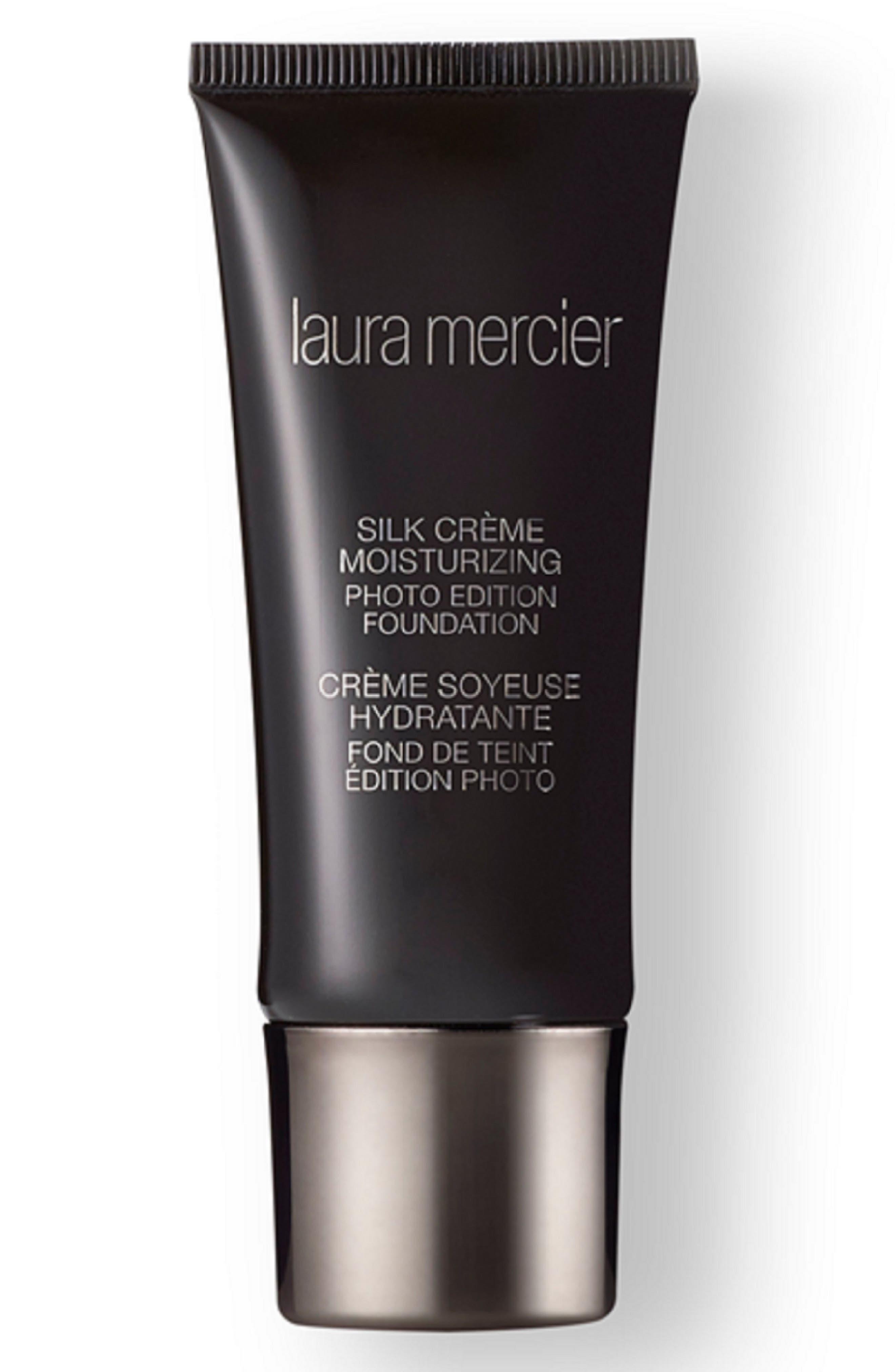LAURA MERCIER, Silk Crème Moisturizing Photo Edition Foundation, Main thumbnail 1, color, PECAN