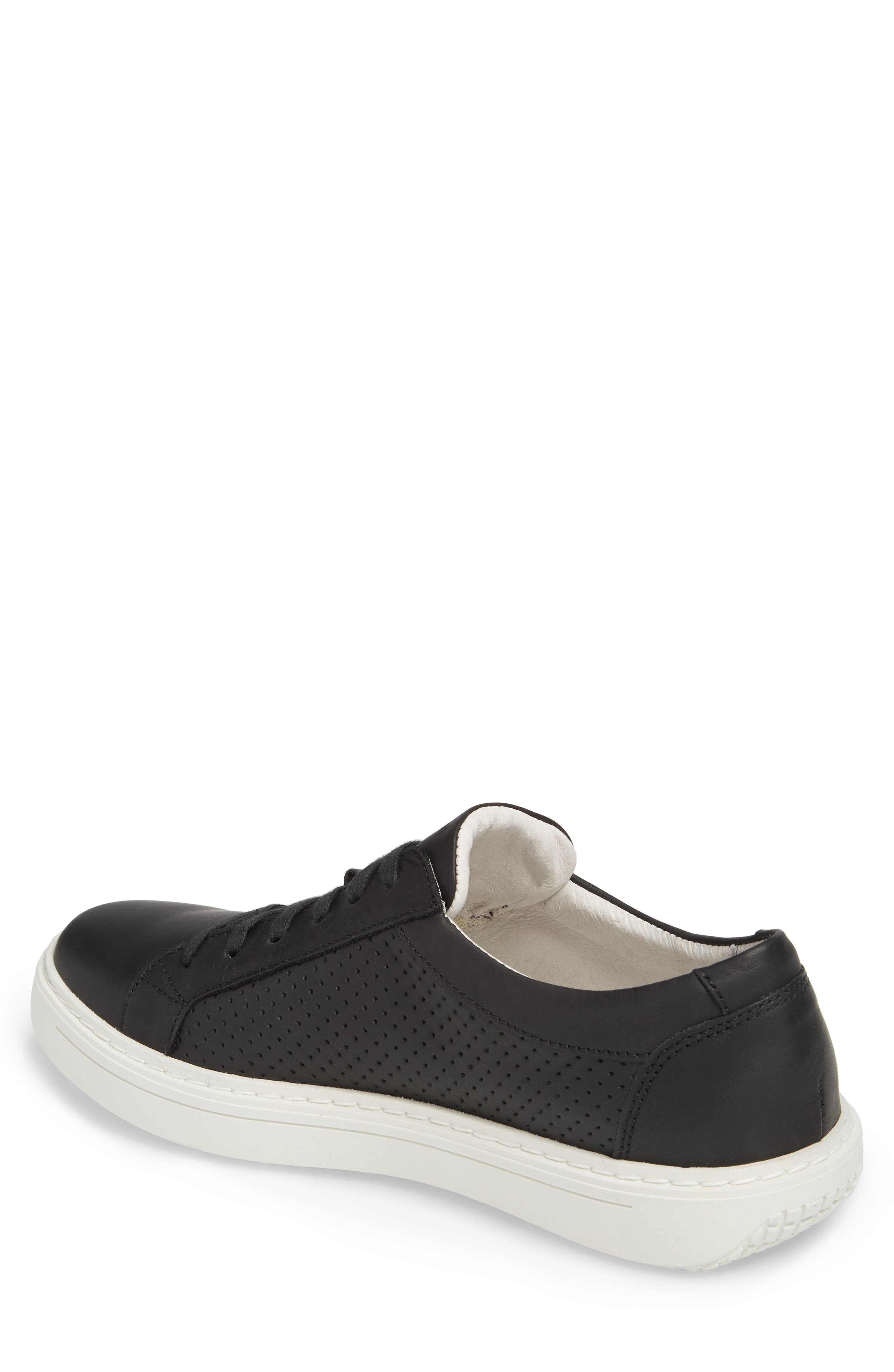 JOSEF SEIBEL, Quentin 13 Perforated Sneaker, Alternate thumbnail 2, color, 005