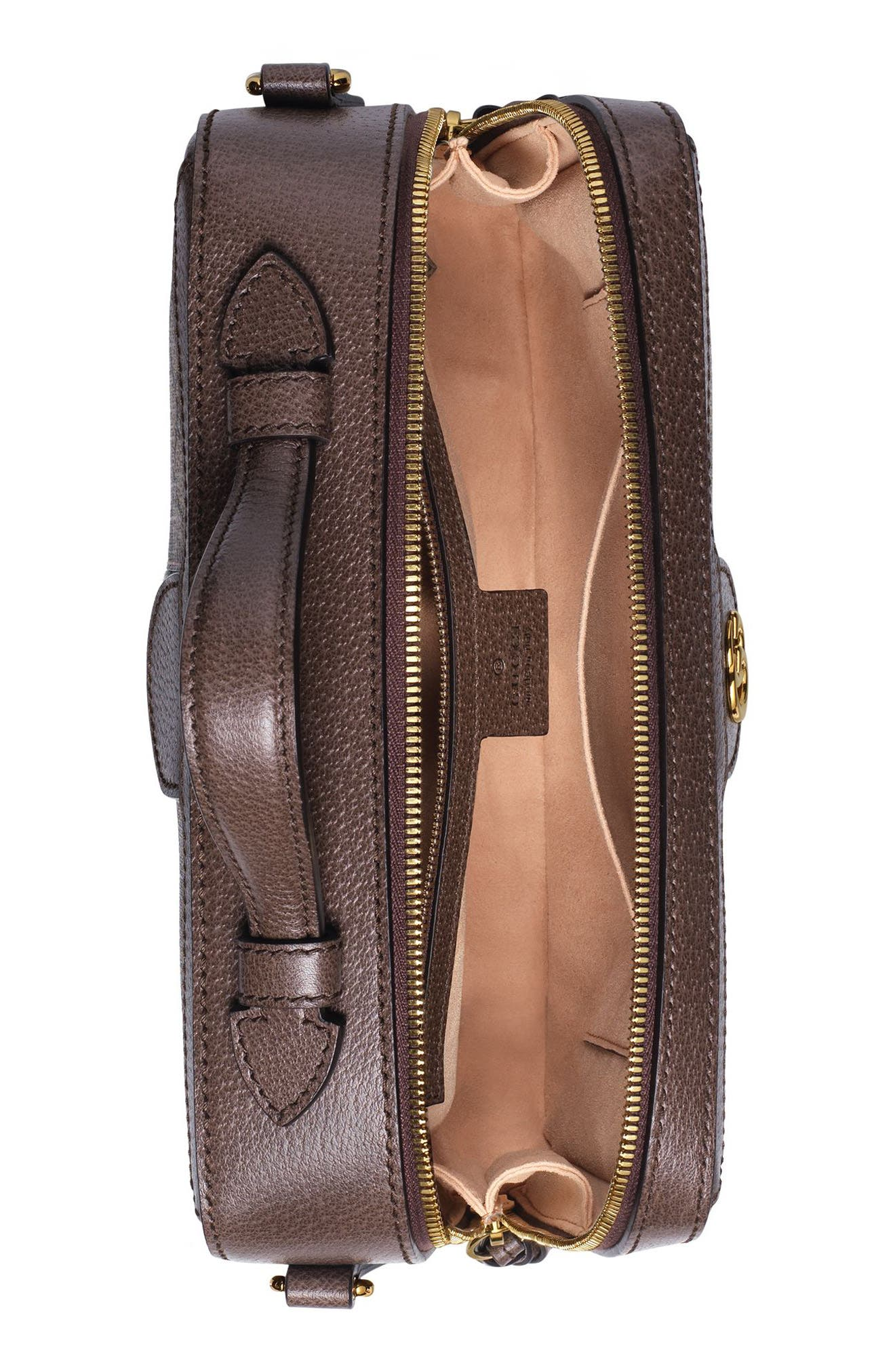 GUCCI, Small Ophidia GG Supreme Canvas Shoulder Bag, Alternate thumbnail 3, color, 250