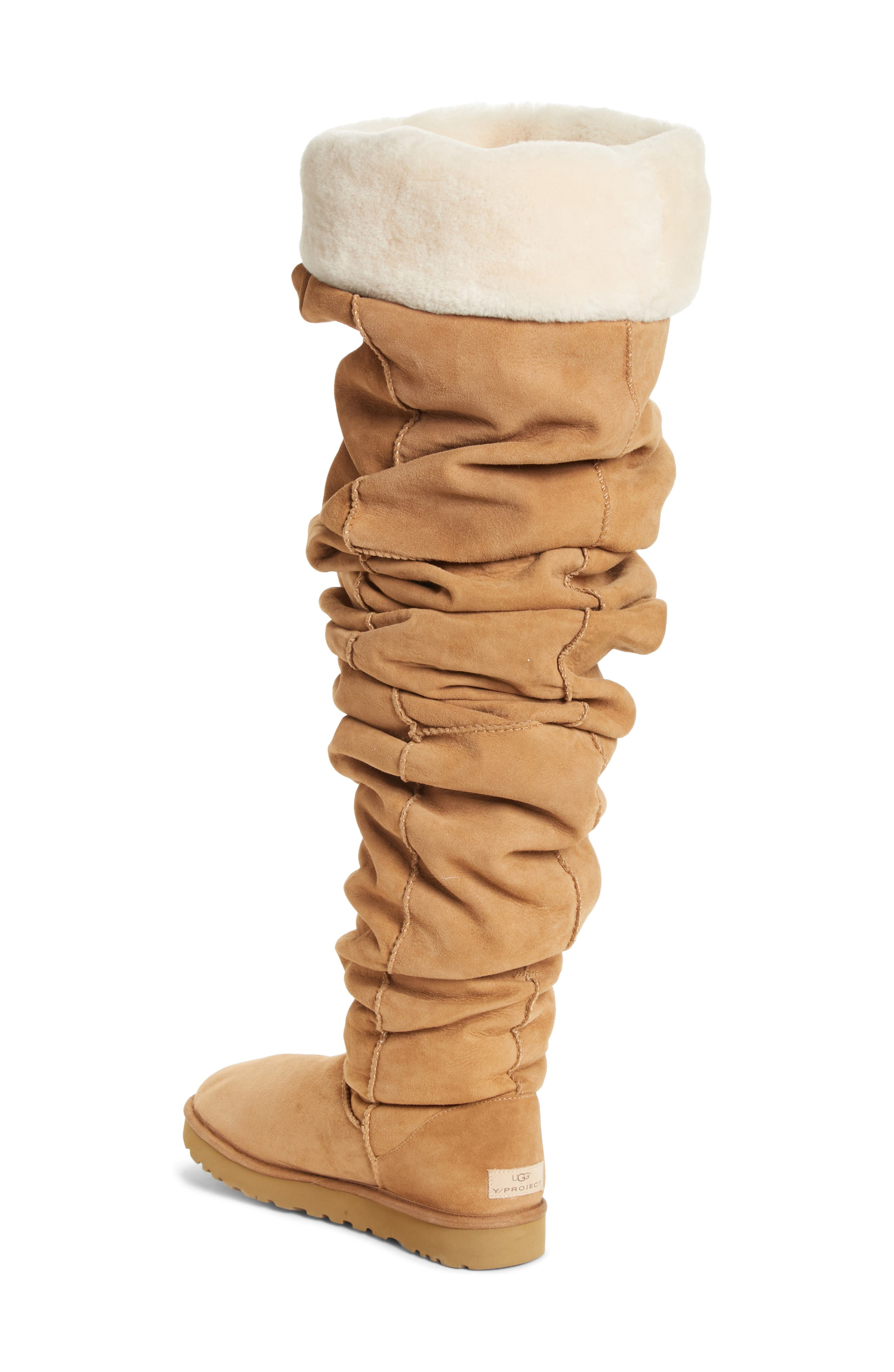 Y/PROJECT, x UGG<sup>®</sup> Thigh High Boot, Alternate thumbnail 2, color, 200