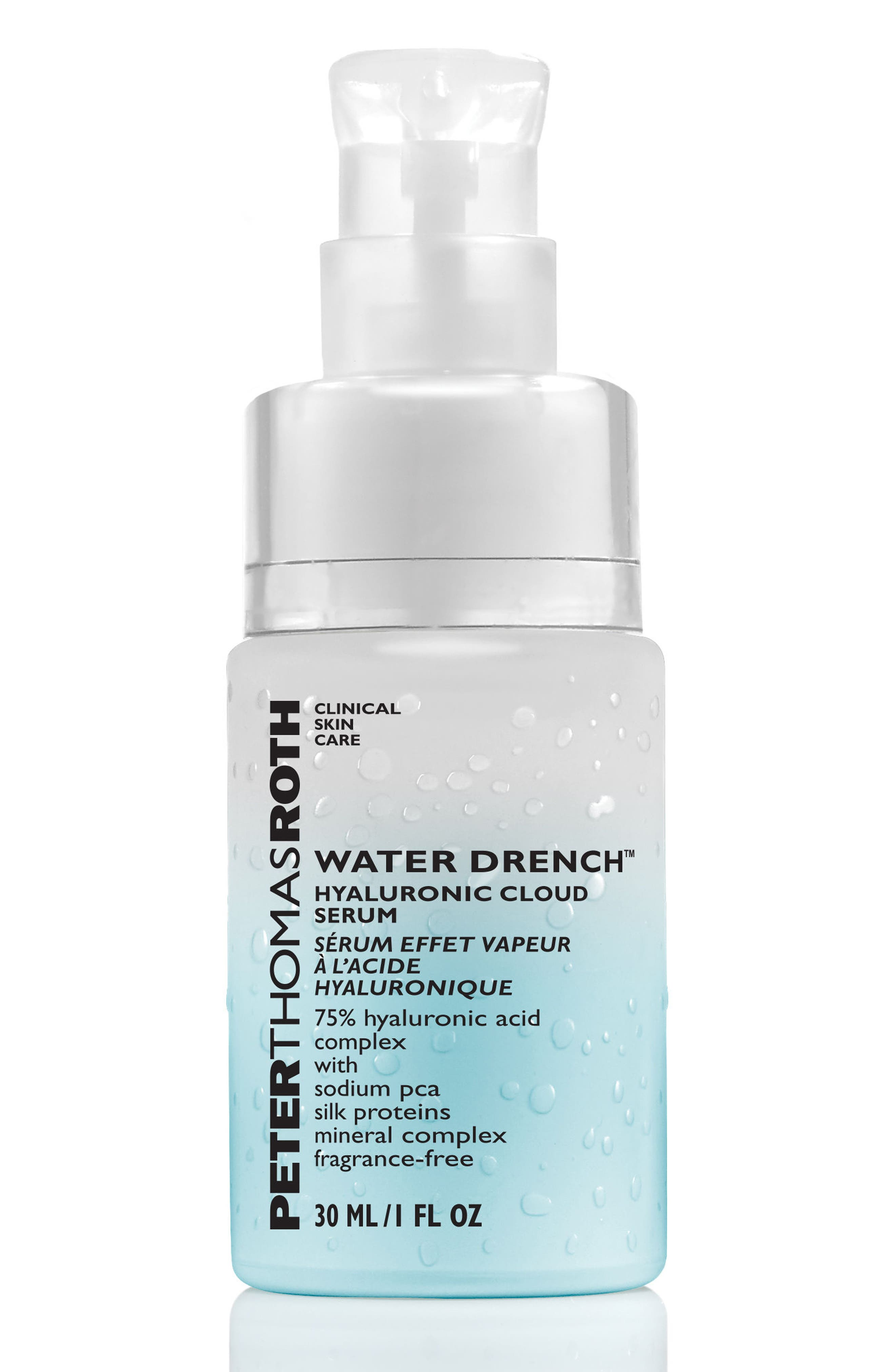 PETER THOMAS ROTH, Water Drench Hyaluronic Cloud Serum, Alternate thumbnail 2, color, NO COLOR