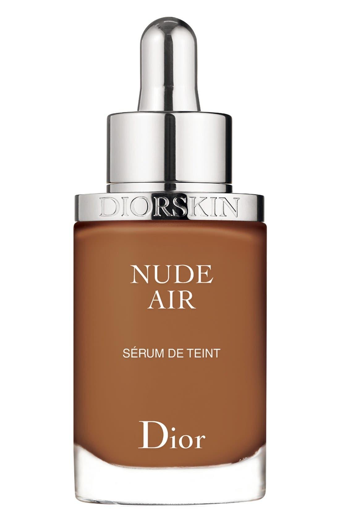 DIOR, Diorskin Nude Air Serum Foundation, Main thumbnail 1, color, 060 MOCHA