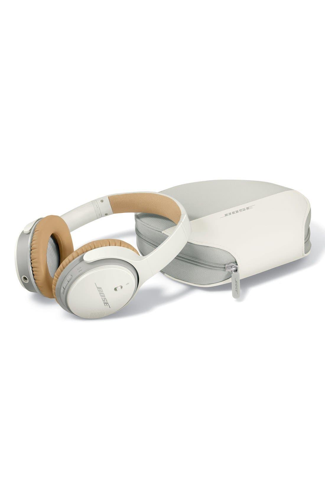 BOSE<SUP>®</SUP>, SoundLink<sup>®</sup> II Around-Ear Bluetooth<sup>®</sup> Headphones, Alternate thumbnail 6, color, WHITE