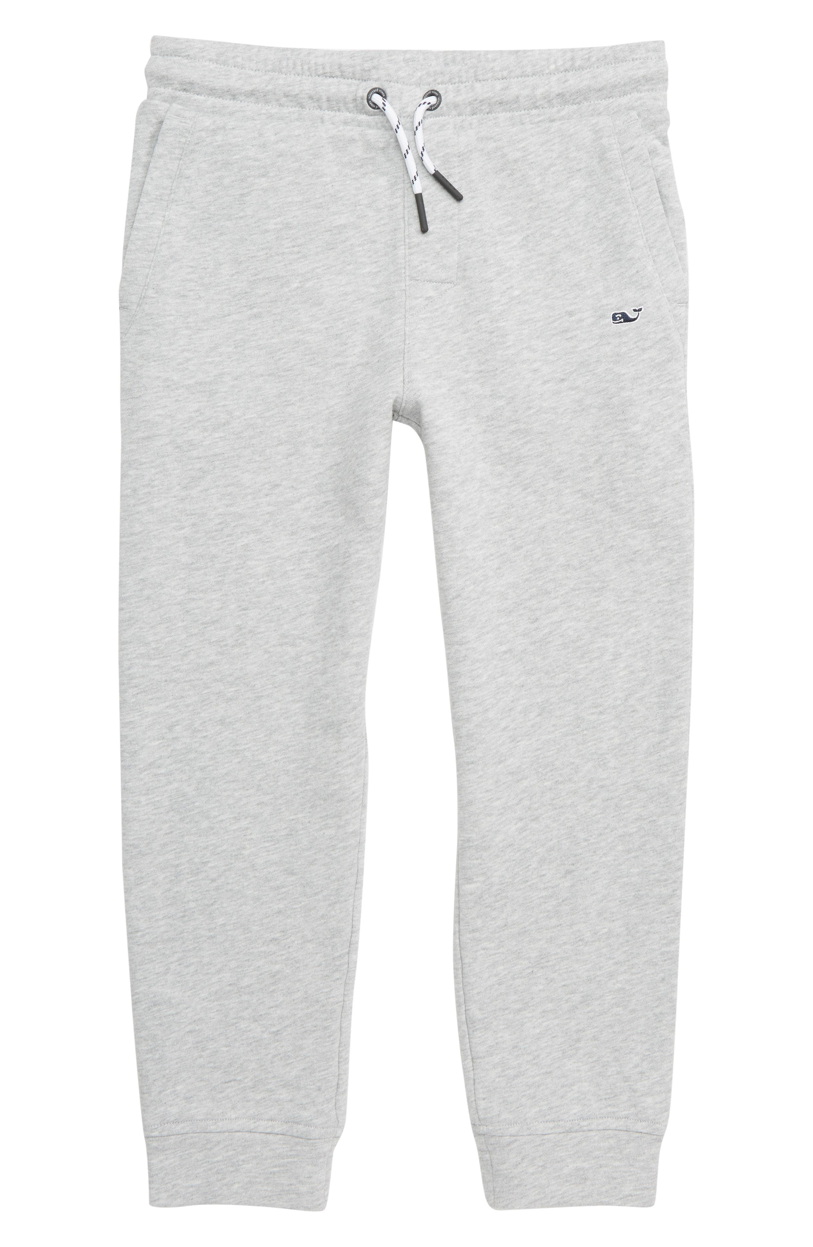 VINEYARD VINES Go Knit Jogger Sweatpants, Main, color, MEDIUM HEATHER GRAY