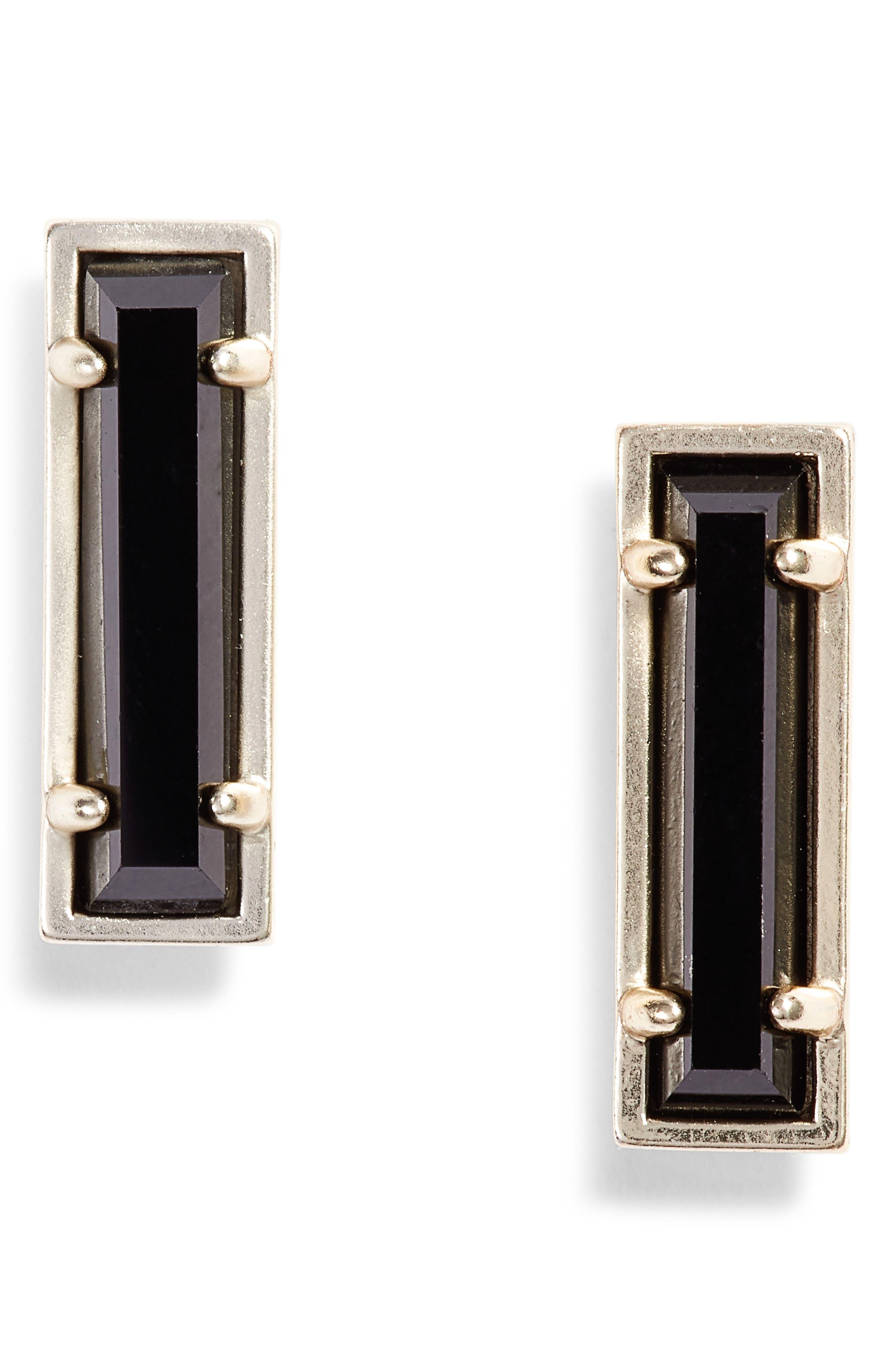 KENDRA SCOTT, Lady Stud Earrings, Main thumbnail 1, color, 002