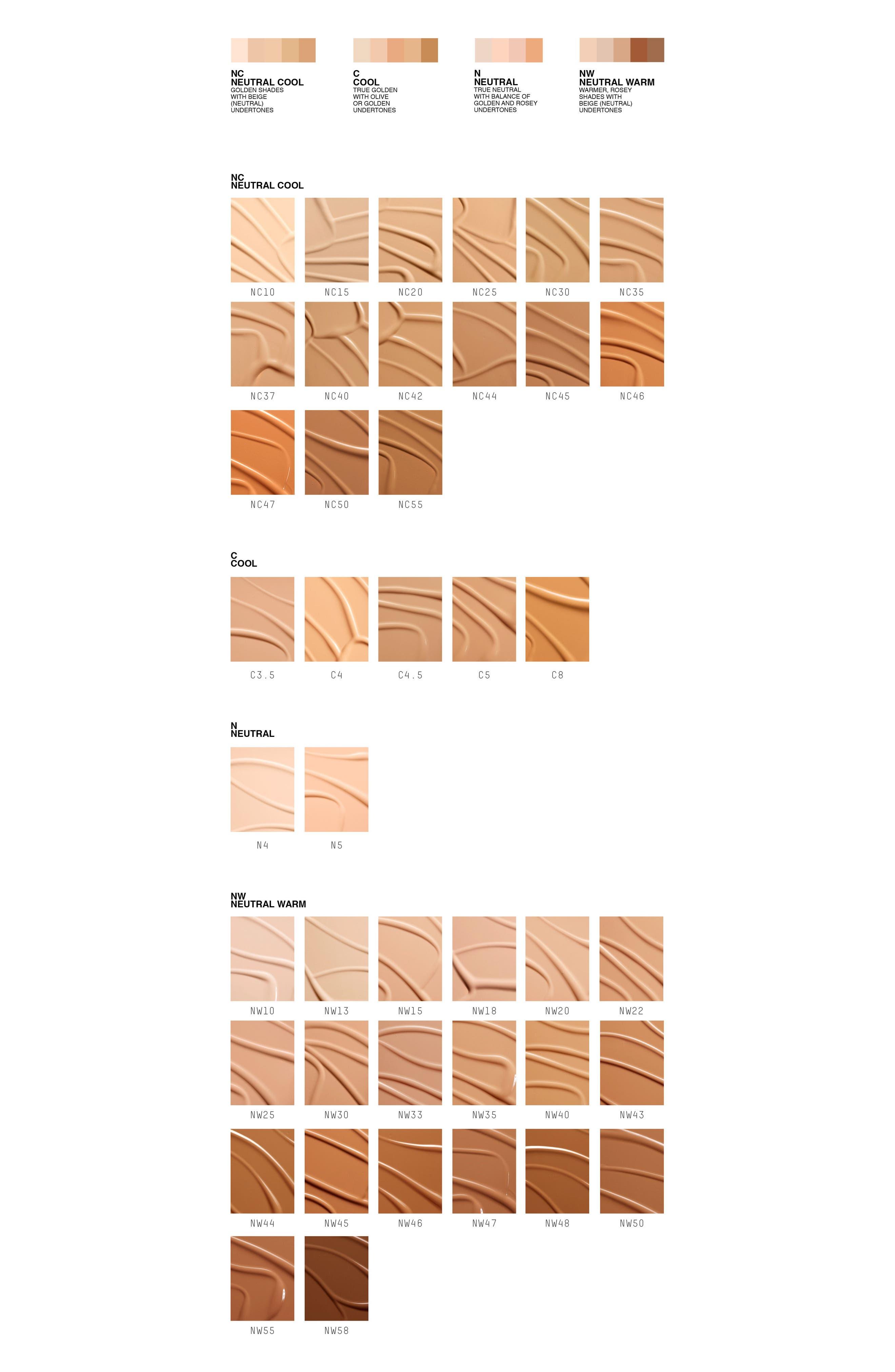 MAC COSMETICS, MAC M·A·C Studio Fix Fluid Foundation SPF 15, Alternate thumbnail 5, color, NW20 WARM NEUTRAL ROSY