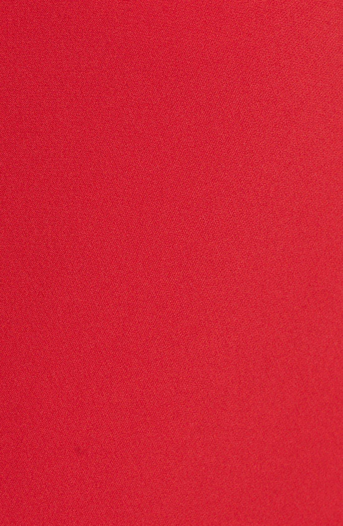 DOLCE&GABBANA, V-Back Pencil Dress, Main thumbnail 1, color, 620