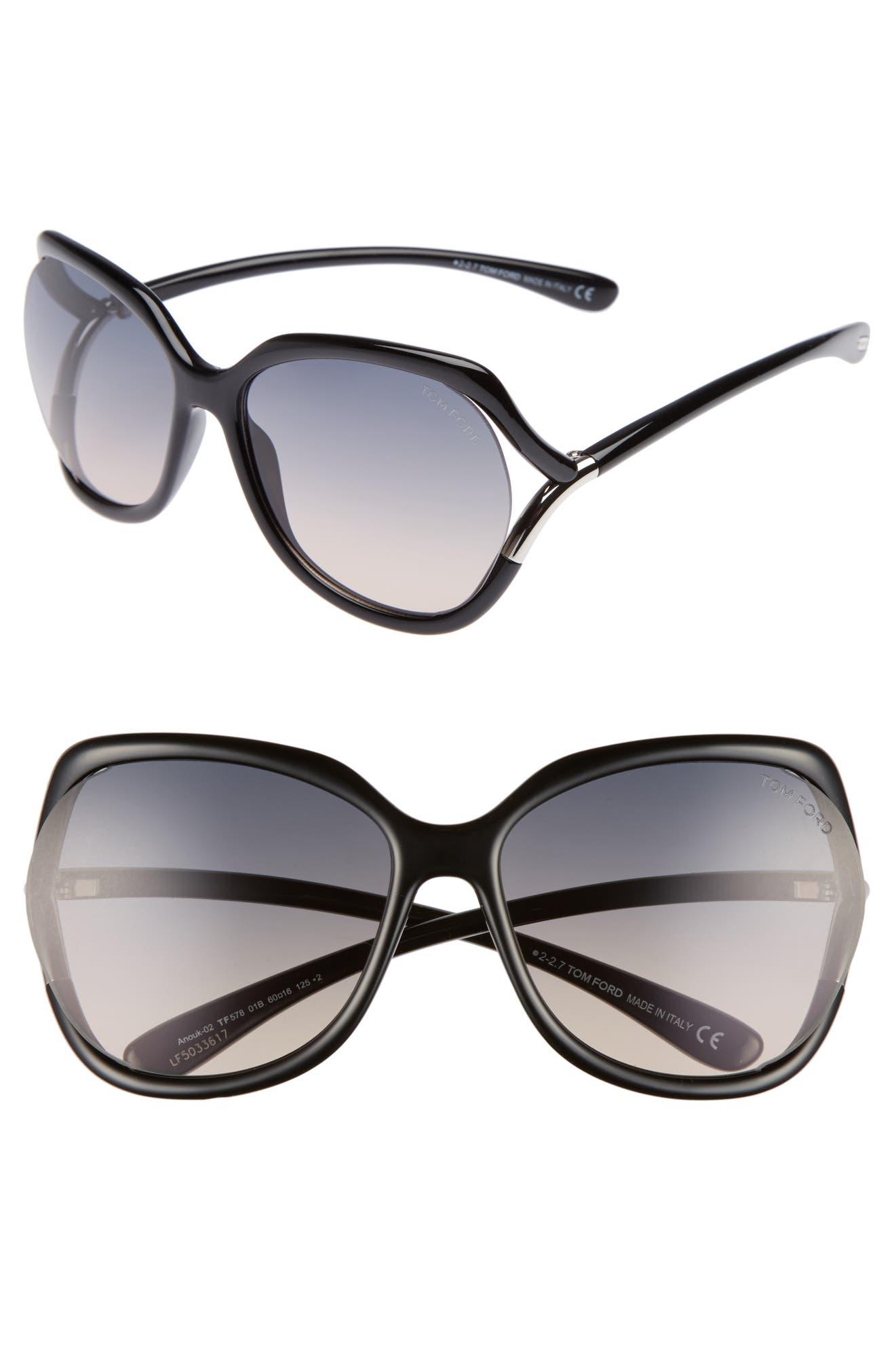 073a8f9f5f3 Tom Ford Anouk 60mm Geometric Sunglasses