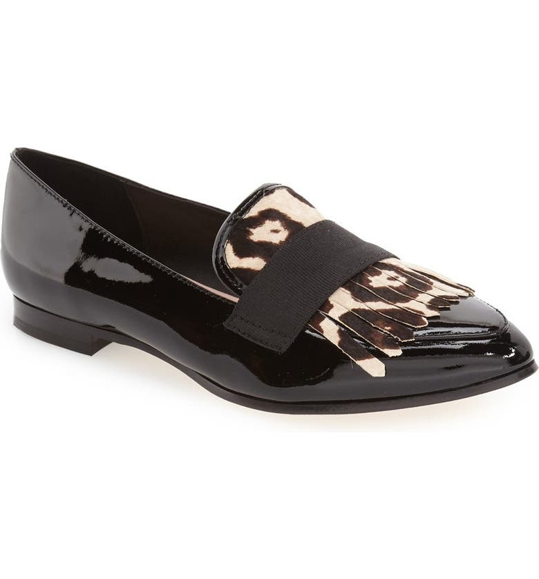 90bbdcaebfc kate spade new york  cayla  kiltie fringe loafer (Women)