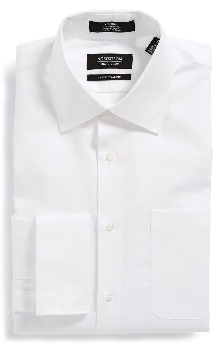 36dd02b0a3a48 NORDSTROM MEN S SHOP Nordstrom Traditional Fit Non-Iron Dress Shirt