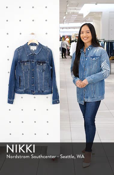 Two by Vince Camuto Jean Jacket, sales video thumbnail