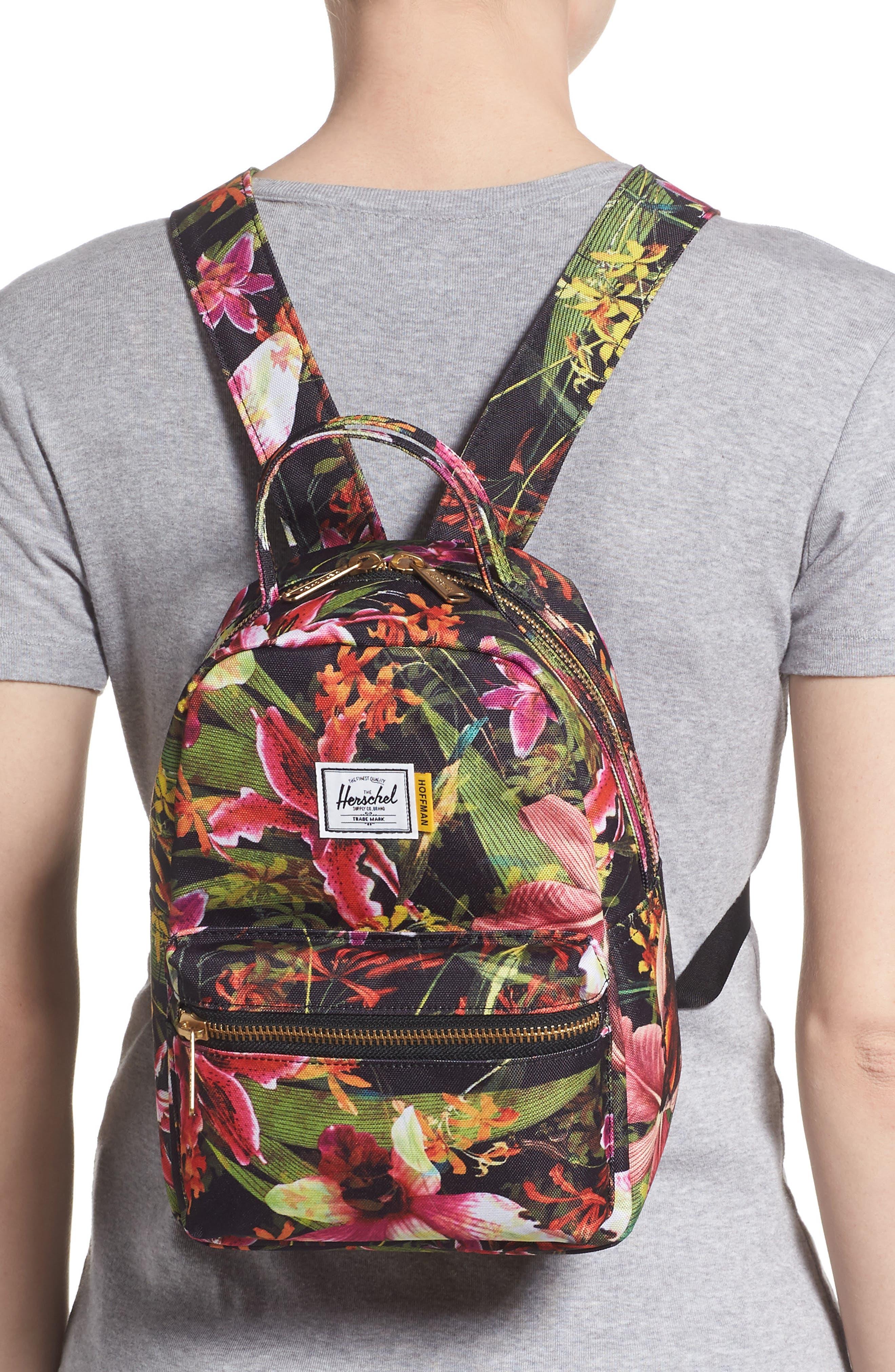 HERSCHEL SUPPLY CO., Mini Nova Backpack, Alternate thumbnail 2, color, JUNGLE HOFFMAN