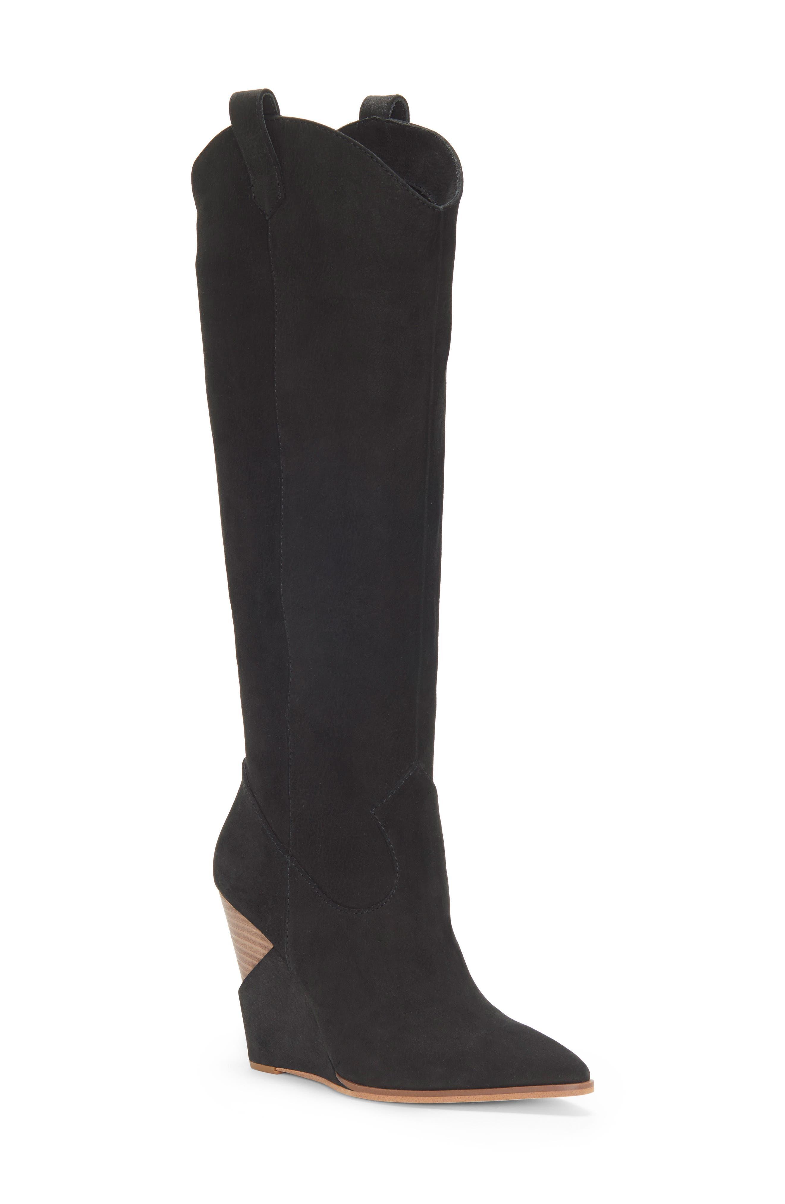 Jessica Simpson Havrie Knee High Boot, Black