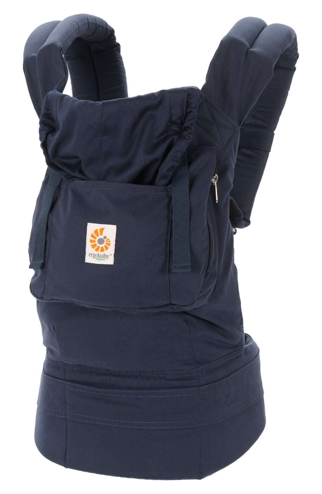 Infant Ergobaby Organic Cotton Baby Carrier Size One Size  Blue