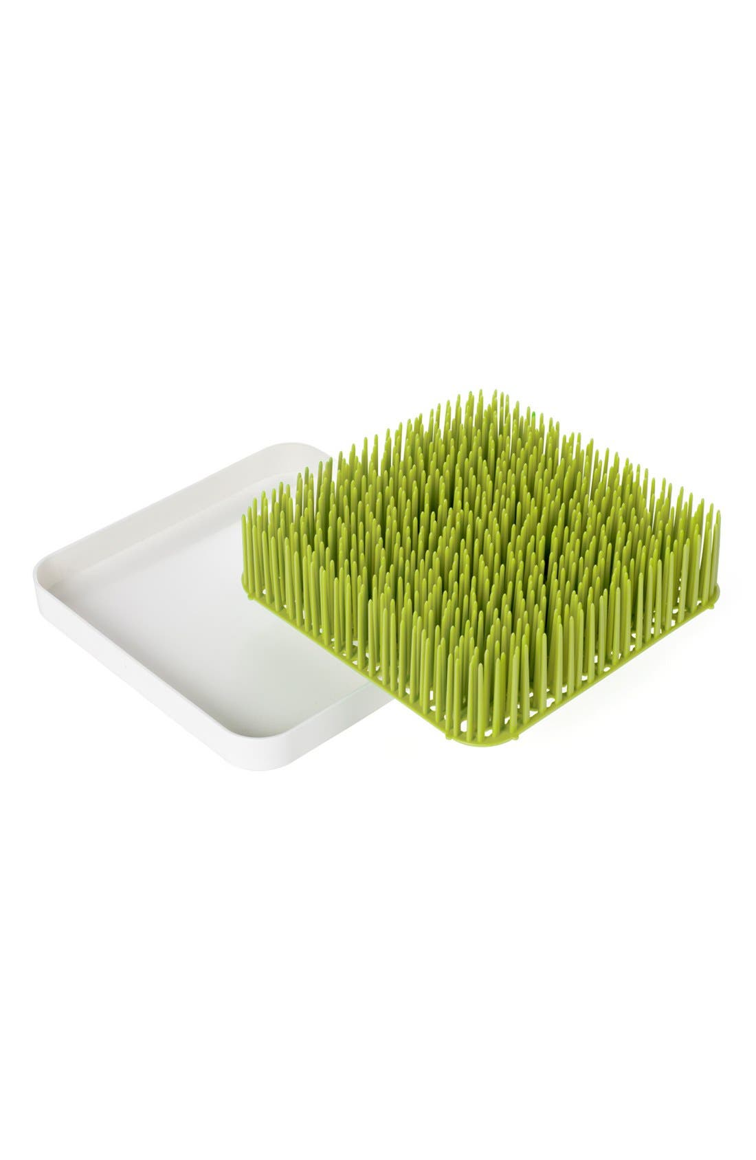BOON, 'Grass' Drying Rack, Main thumbnail 1, color, GREEN AND WHITE
