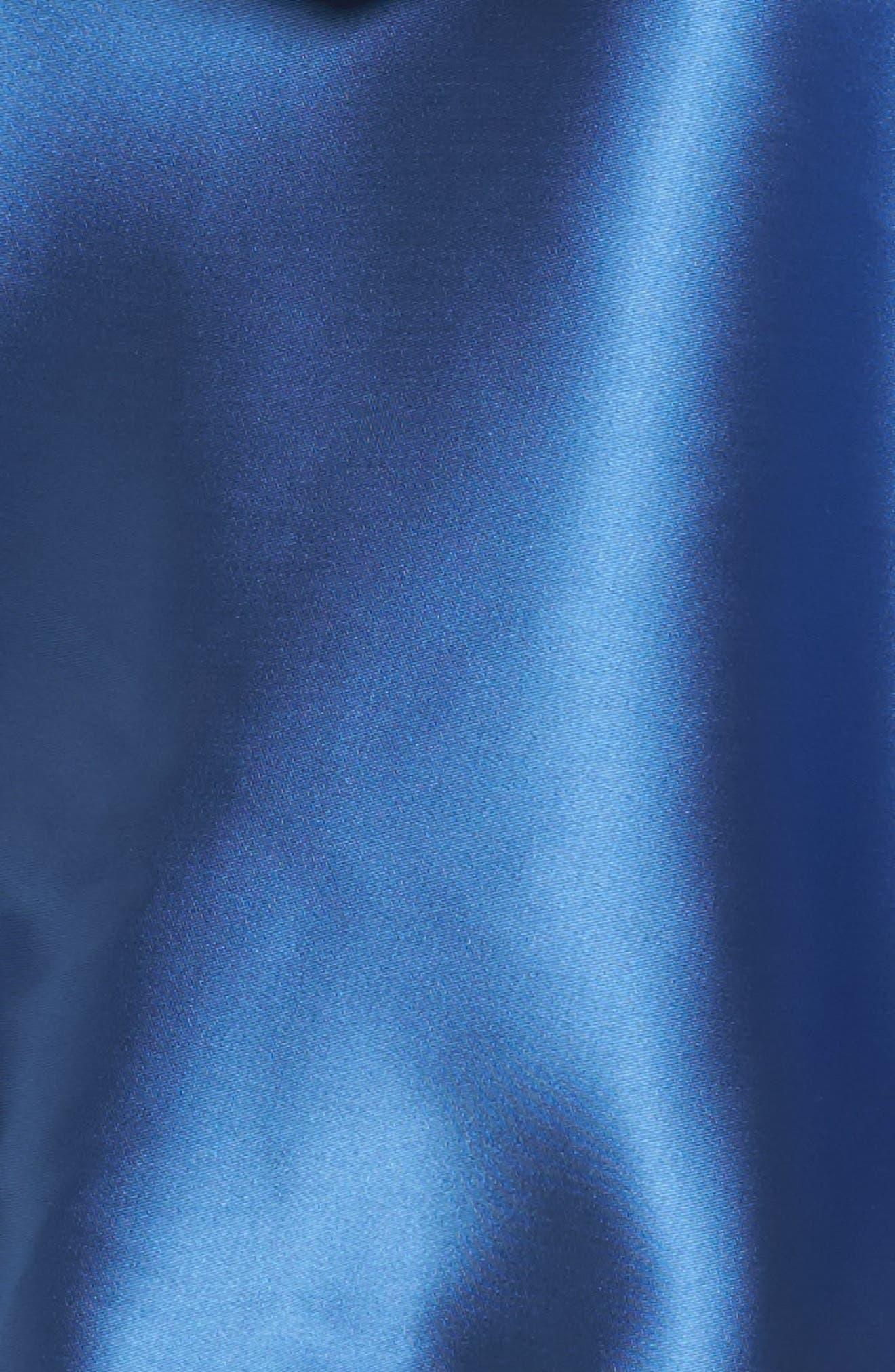 PUMA, FENTY PUMA by Rihanna Satin Jacket, Alternate thumbnail 6, color, 400