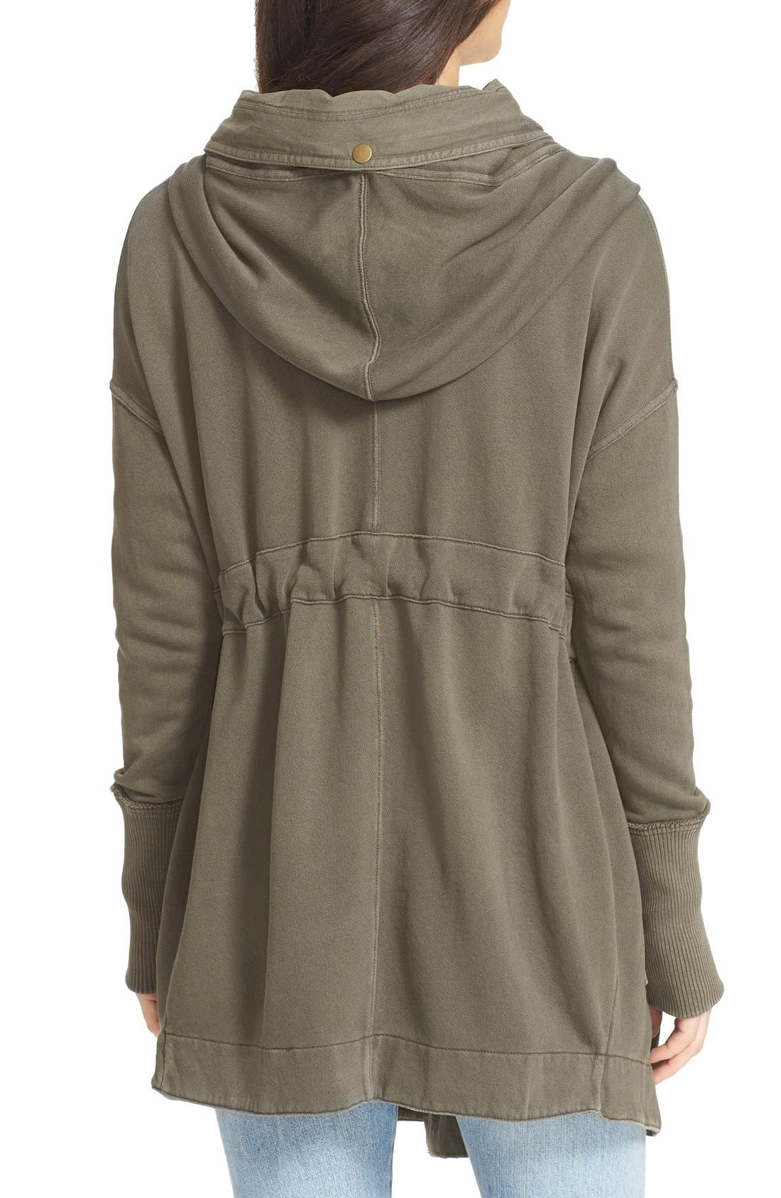FREE PEOPLE, Brentwood Cotton Cardigan, Alternate thumbnail 4, color, 350
