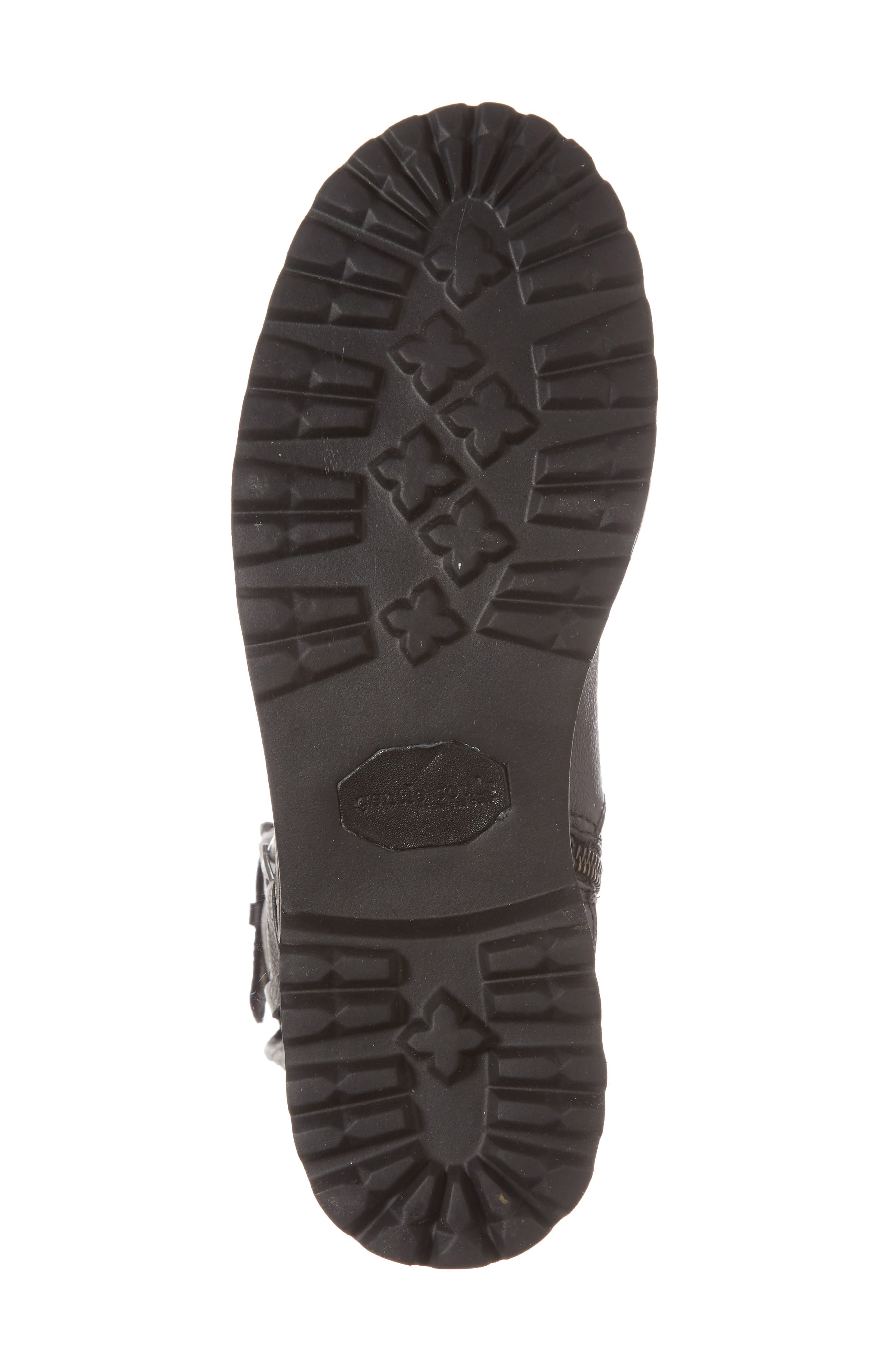 GENTLE SOULS BY KENNETH COLE, 'Buckled Up' Boot, Alternate thumbnail 6, color, BLACK