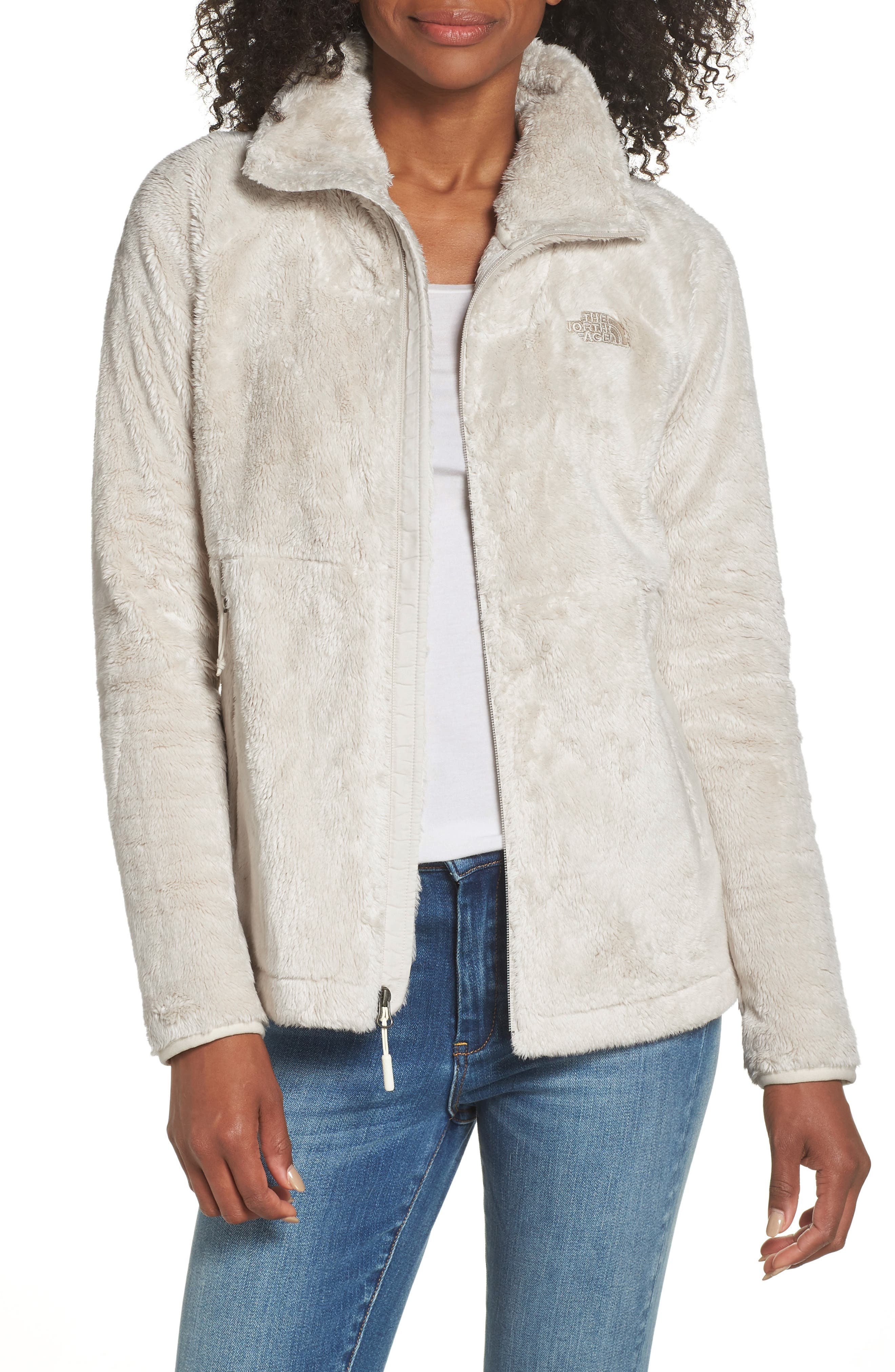 THE NORTH FACE, Osito Sport Hybrid Jacket, Main thumbnail 1, color, VINTAGE WHITE