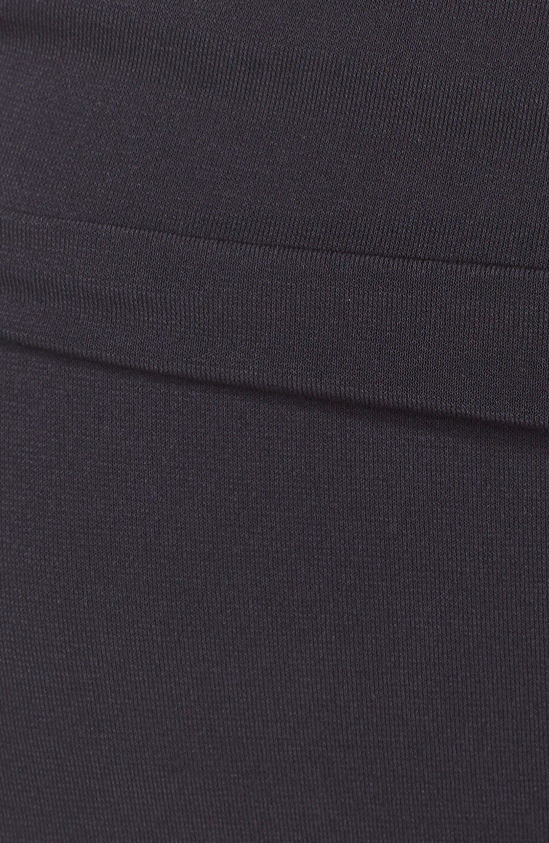 MAGICSUIT<SUP>®</SUP>, Ruched Bikini Bottoms, Alternate thumbnail 6, color, BLACK TONES