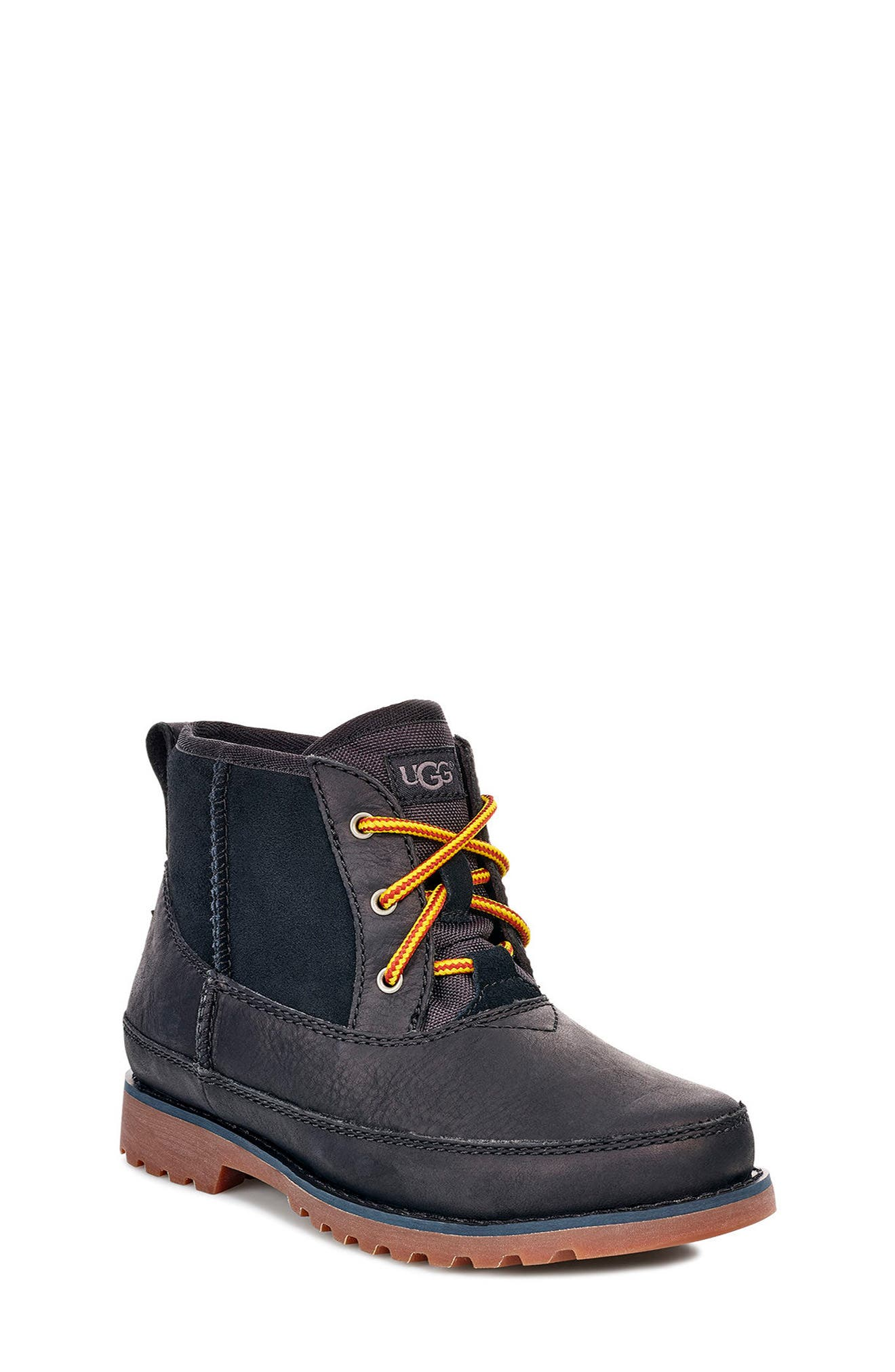 UGG<SUP>®</SUP>, Bradley Waterproof Boot, Main thumbnail 1, color, BLACK