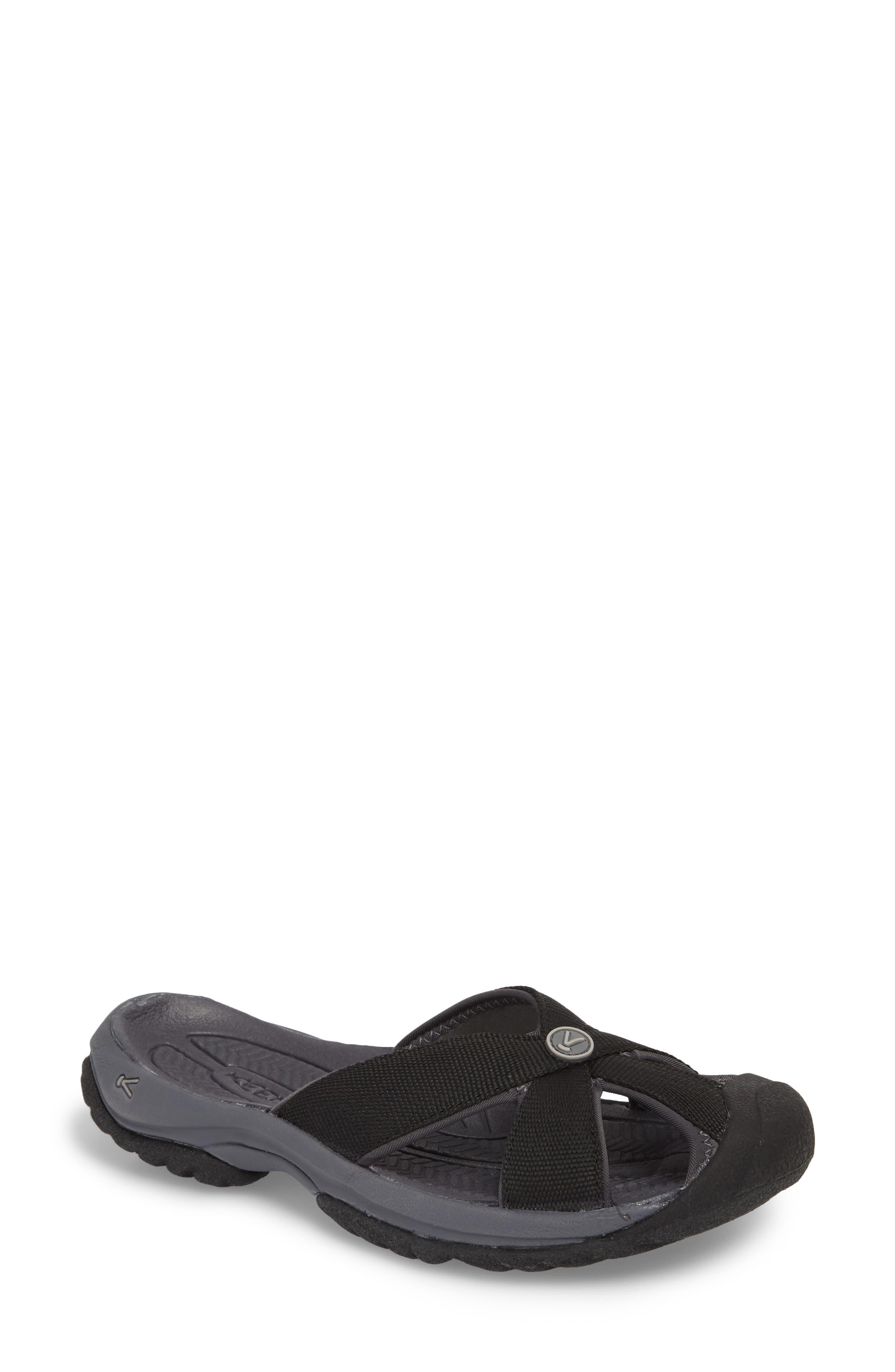 KEEN, 'Bali' Sandal, Main thumbnail 1, color, BLACK/ MAGNET