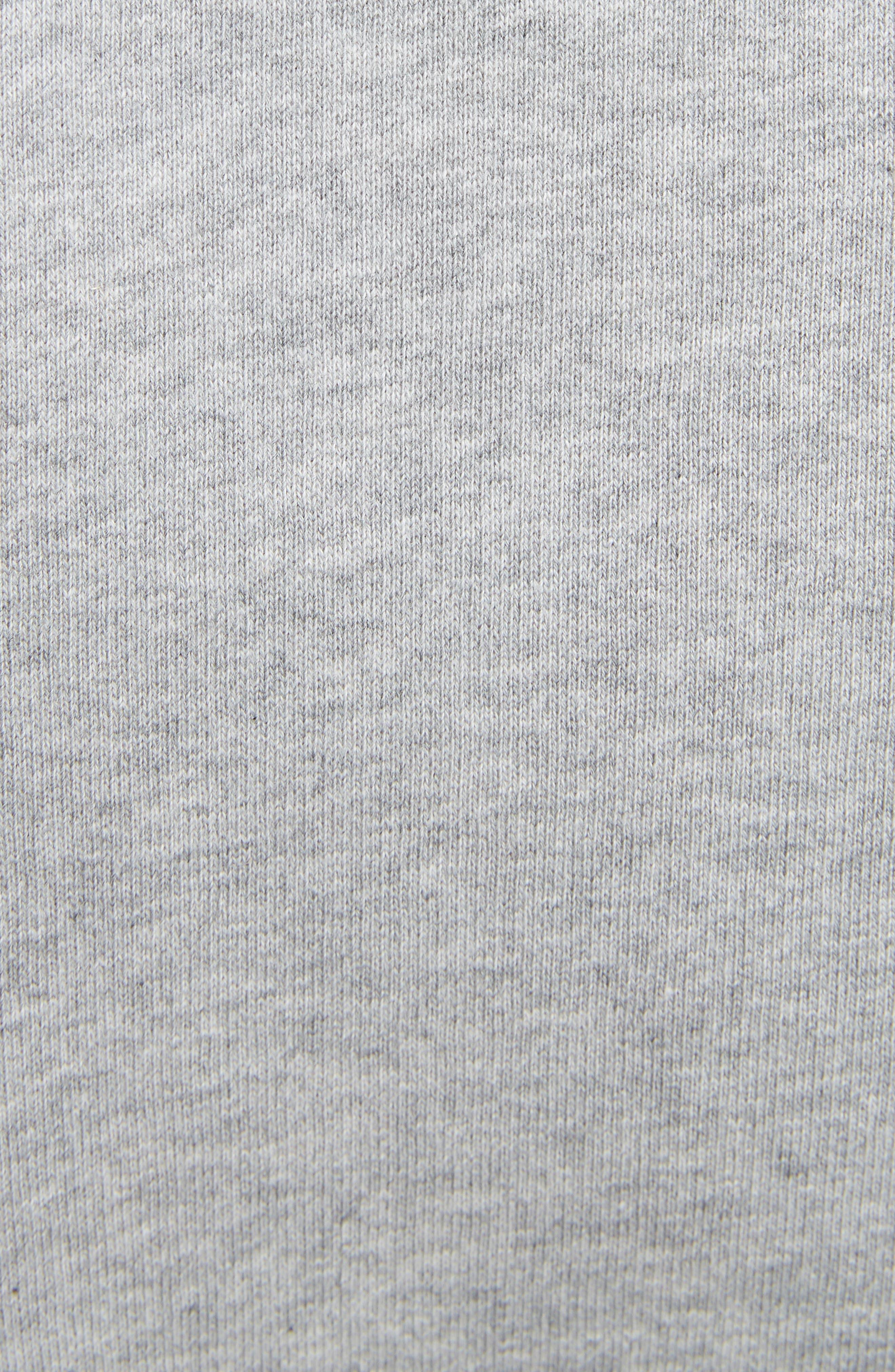 KENZO, Tiger Sweatshirt, Alternate thumbnail 5, color, PEARL GREY
