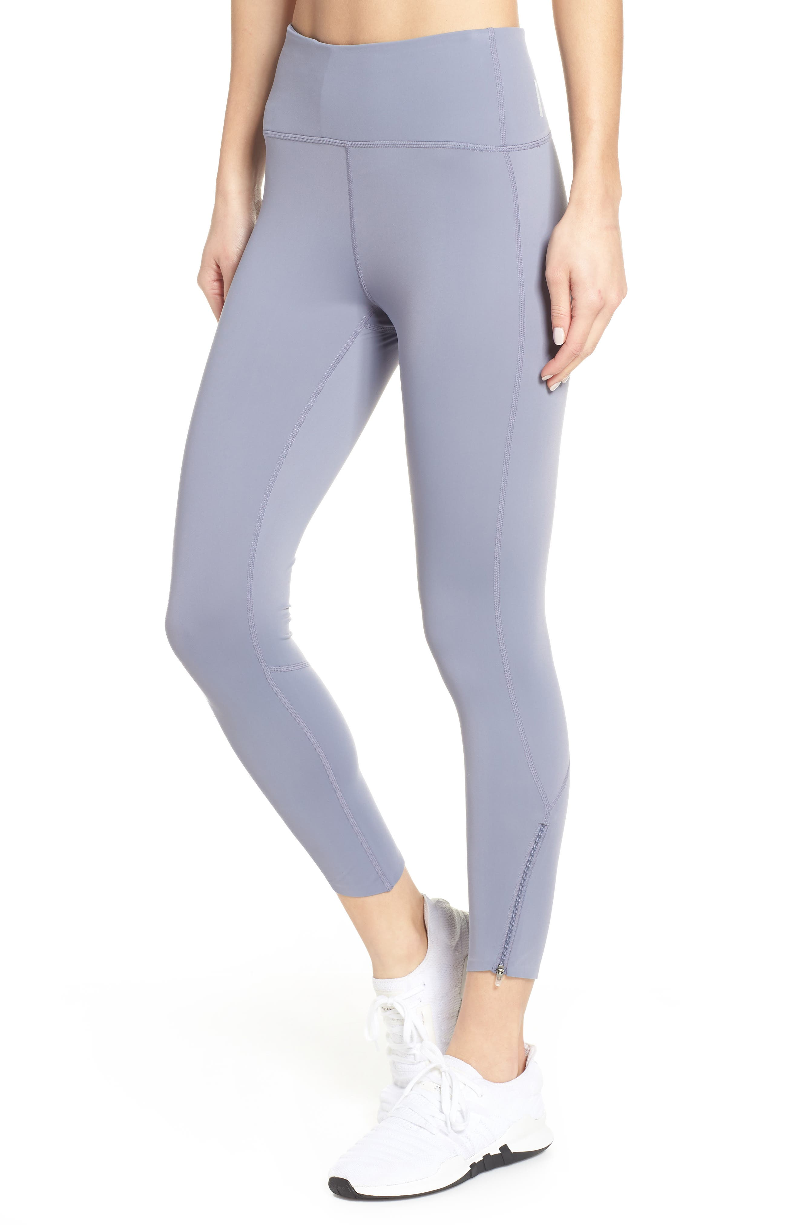 ZELLA Luella Luxe High Waist 7/8 Leggings, Main, color, GREY GRANITE
