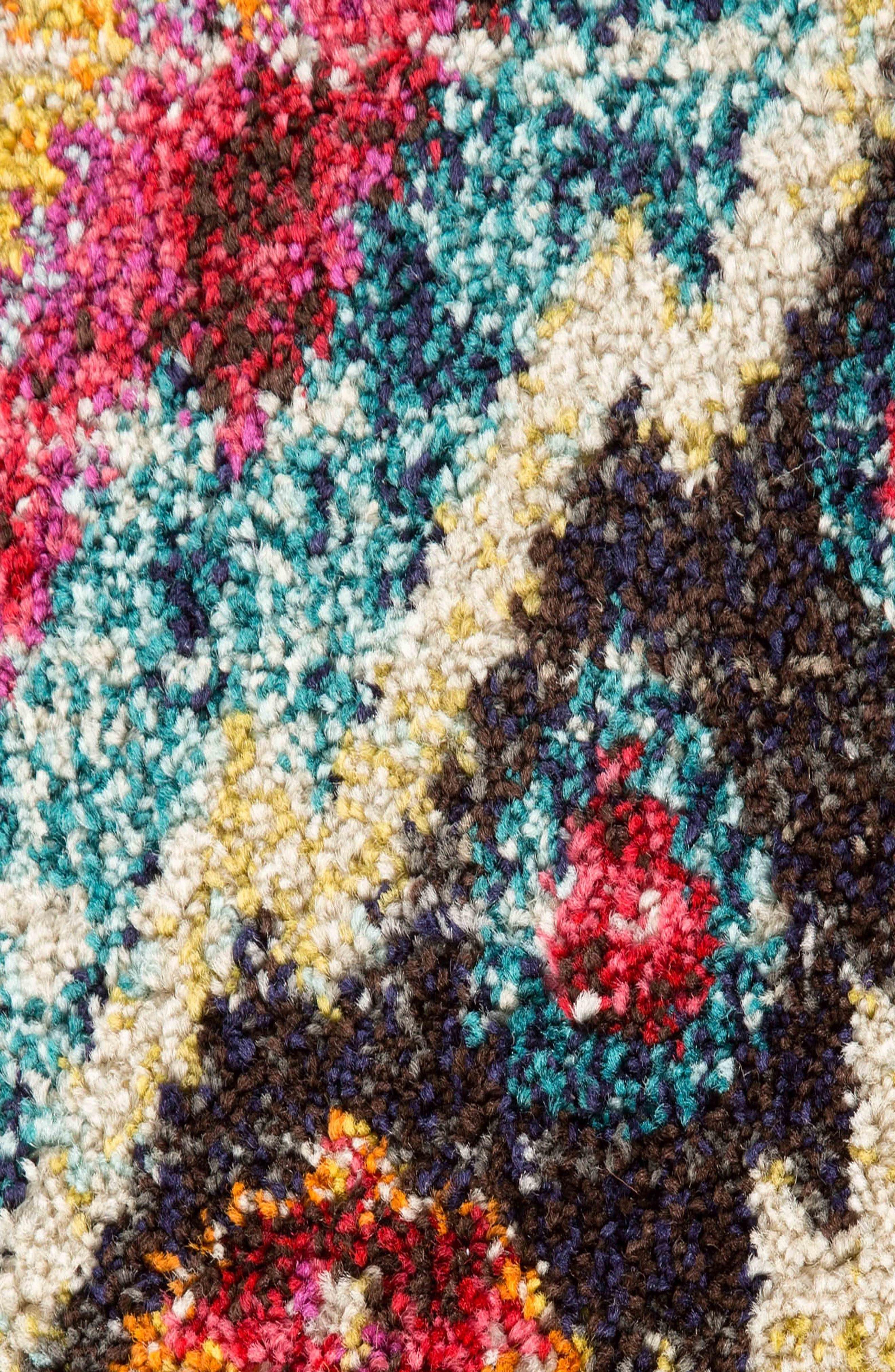 JAIPUR, Amuze Rug, Alternate thumbnail 4, color, FUSCHIA PURPLE