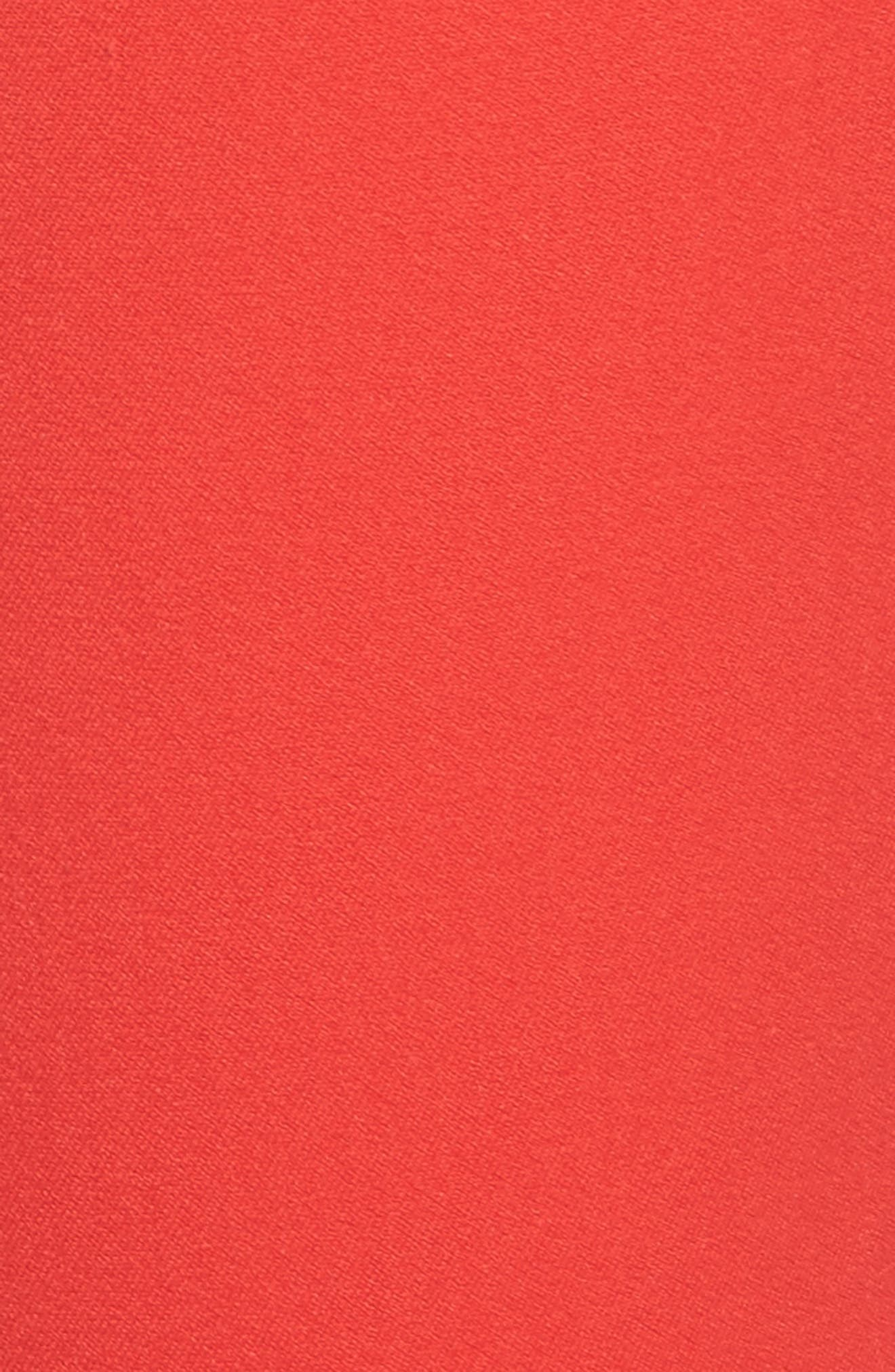 HALOGEN<SUP>®</SUP>, Ankle Pants, Alternate thumbnail 6, color, RED BLOOM