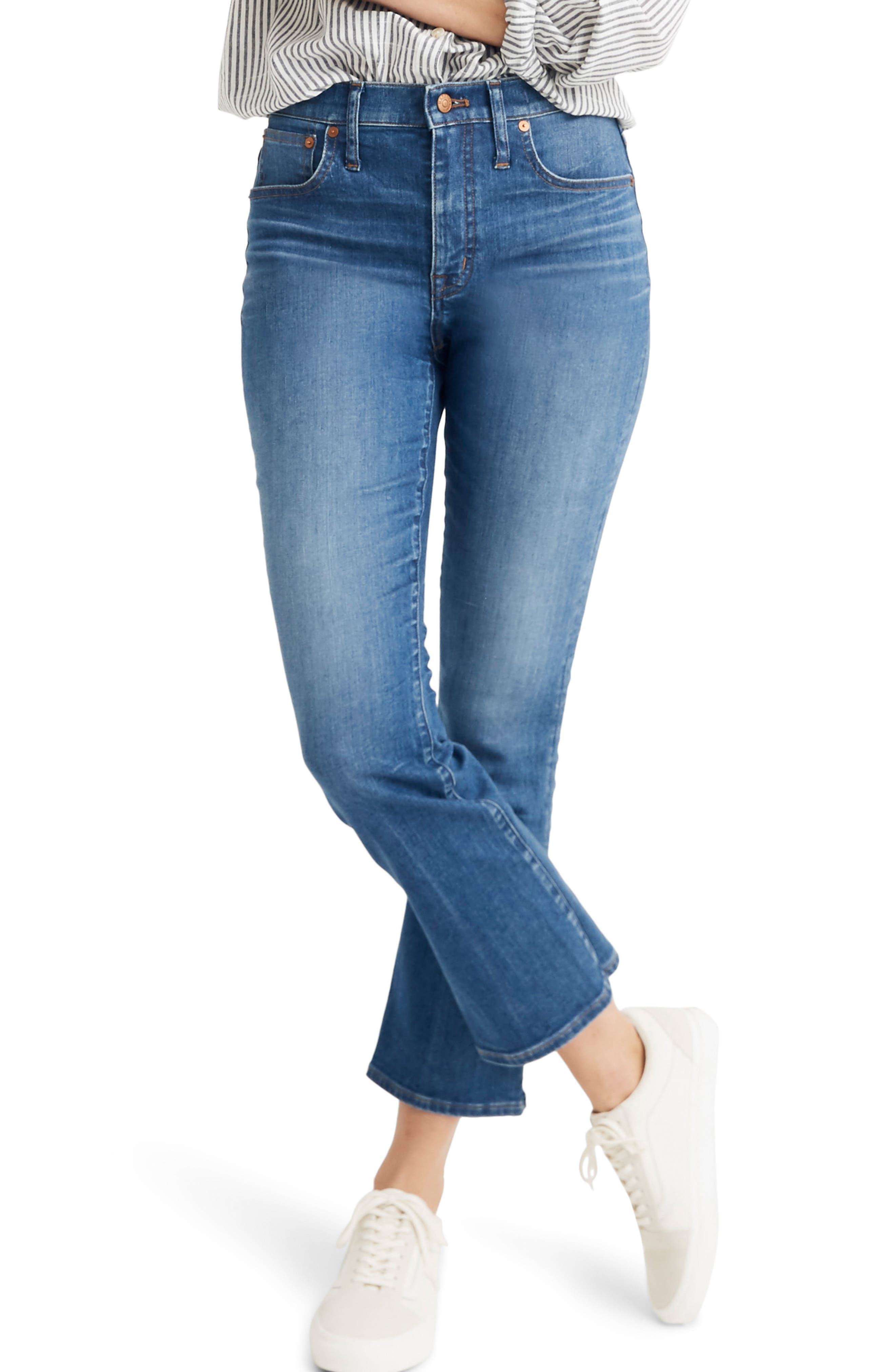 MADEWELL, Eco Edition Cali Demi Boot Jeans, Main thumbnail 1, color, TIERNEY WASH