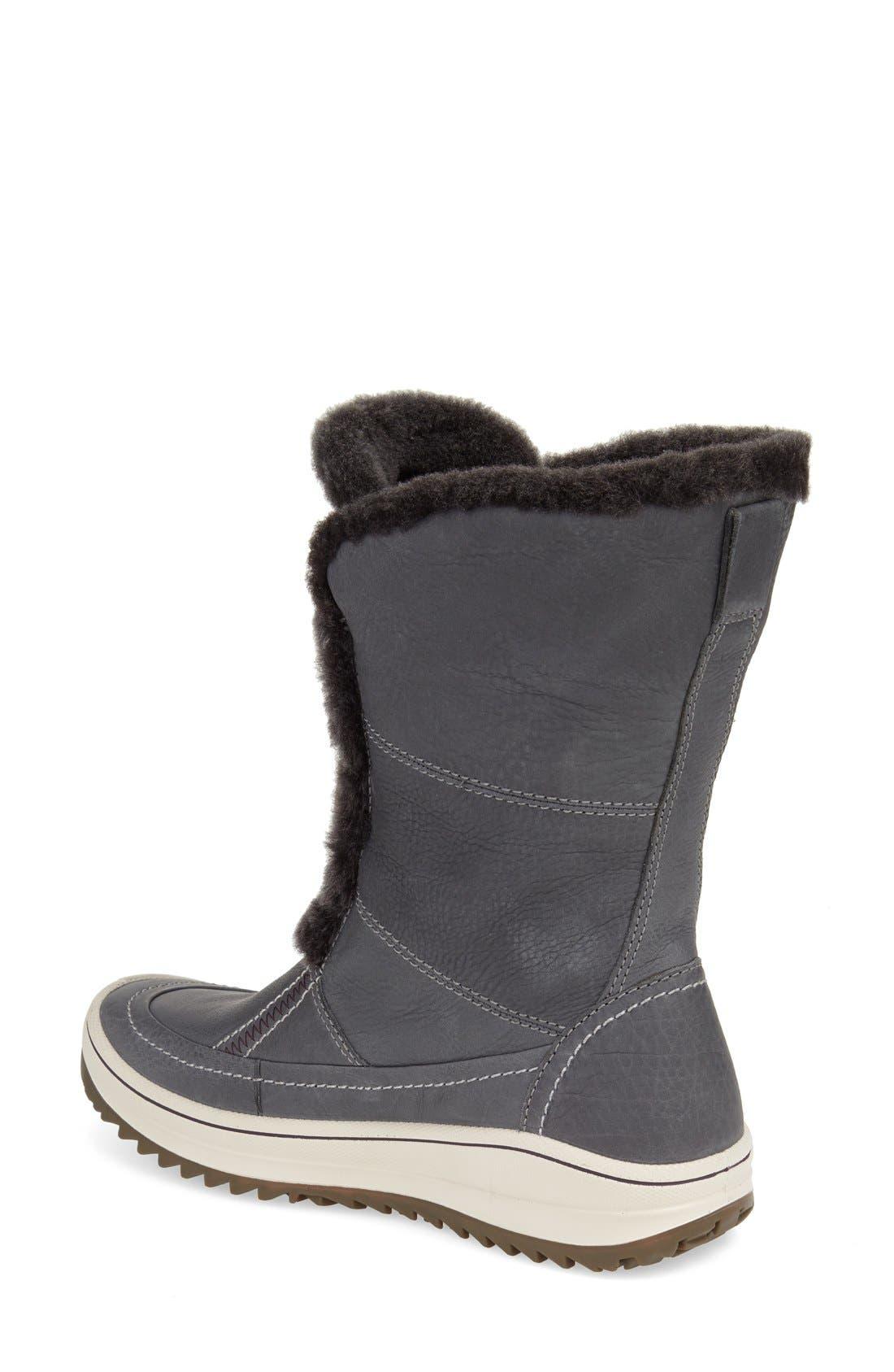 ECCO, 'Trace' Snow Boot, Alternate thumbnail 4, color, 077