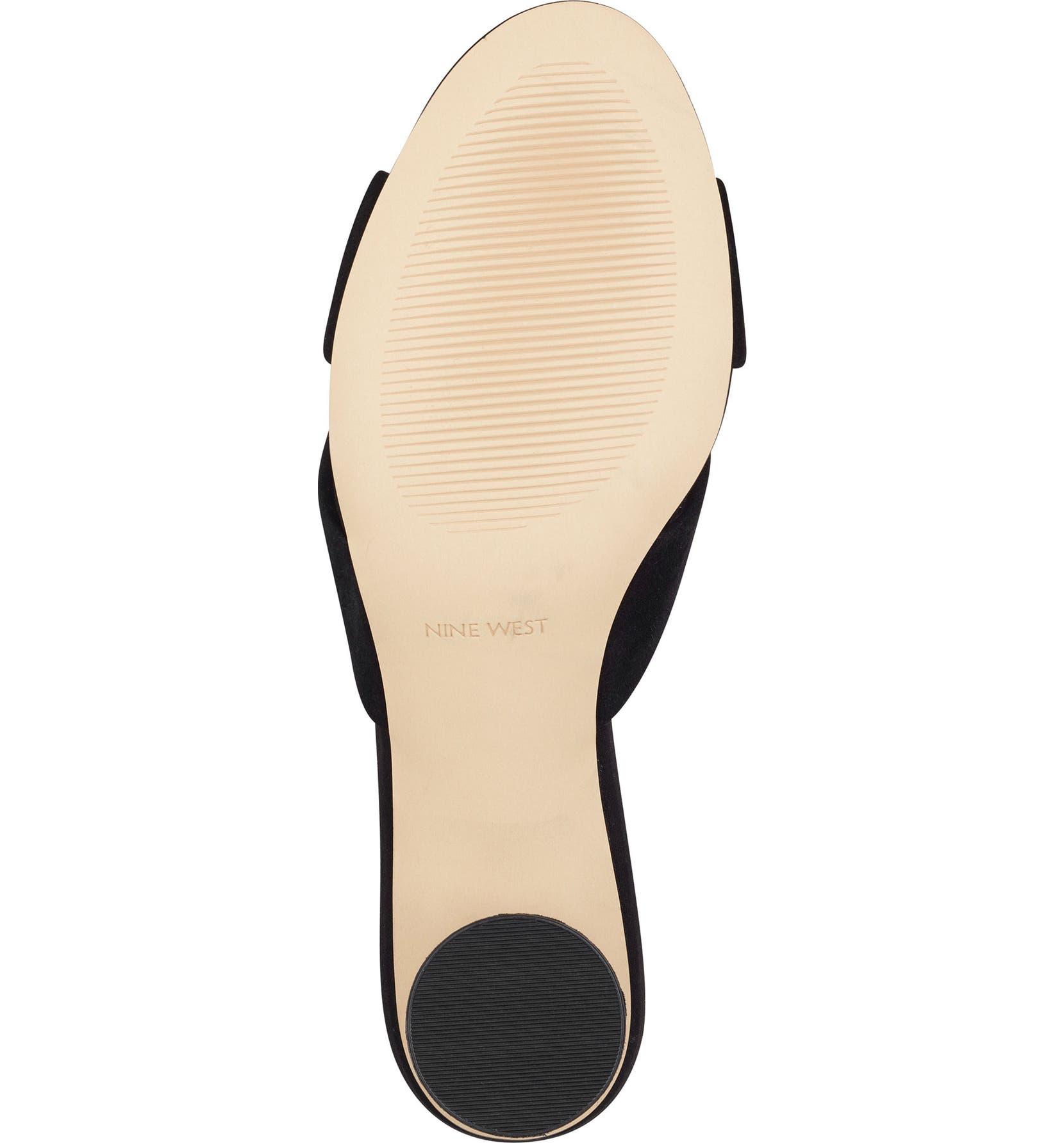 ecee4e35664 Nine West Kayla Knot Slip-On Sandal (Women)