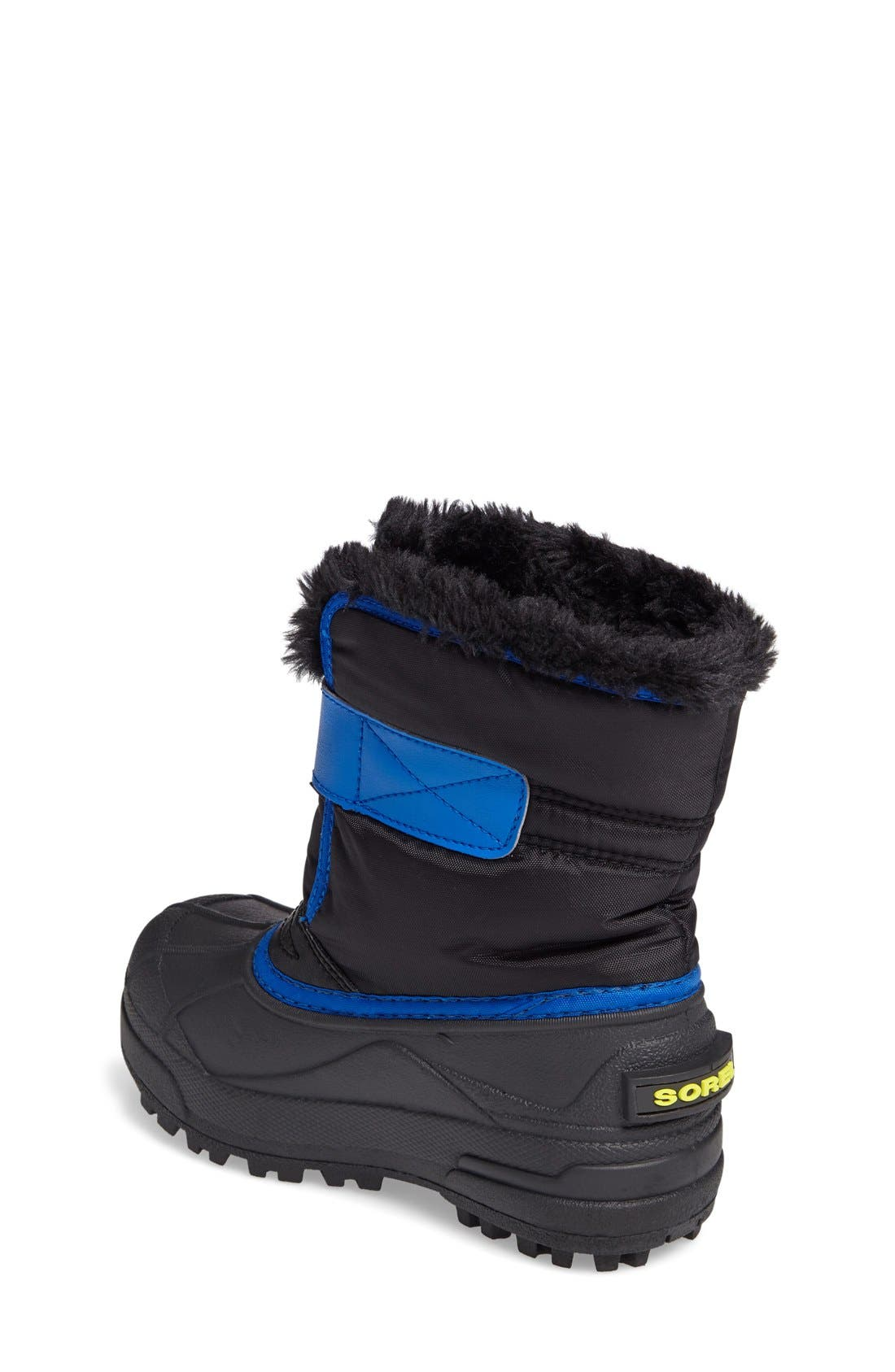 SOREL, 'Snow Commander' Boot, Alternate thumbnail 4, color, 011