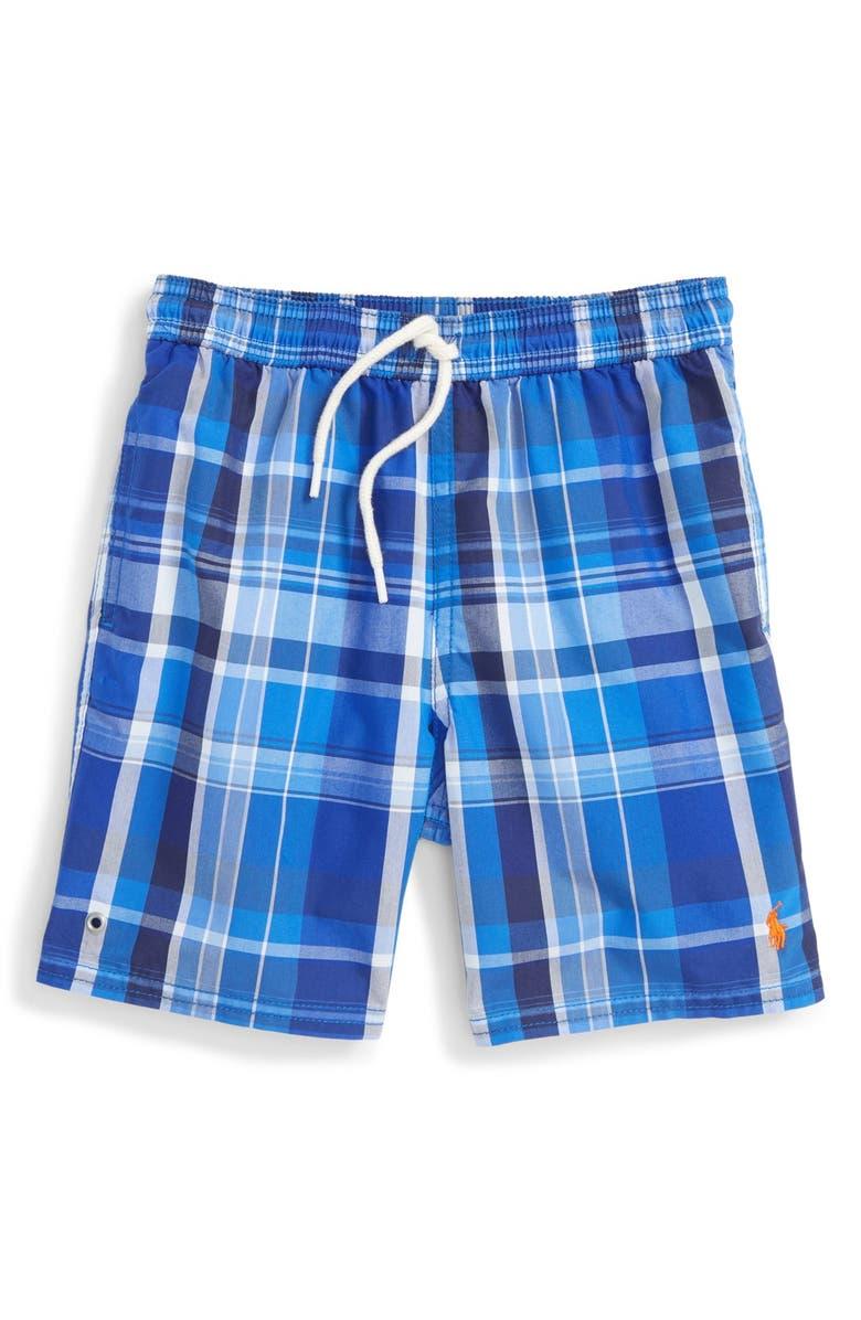 597c6e176f Ralph Lauren 'Captiva' Swim Trunks (Big Boys) | Nordstrom