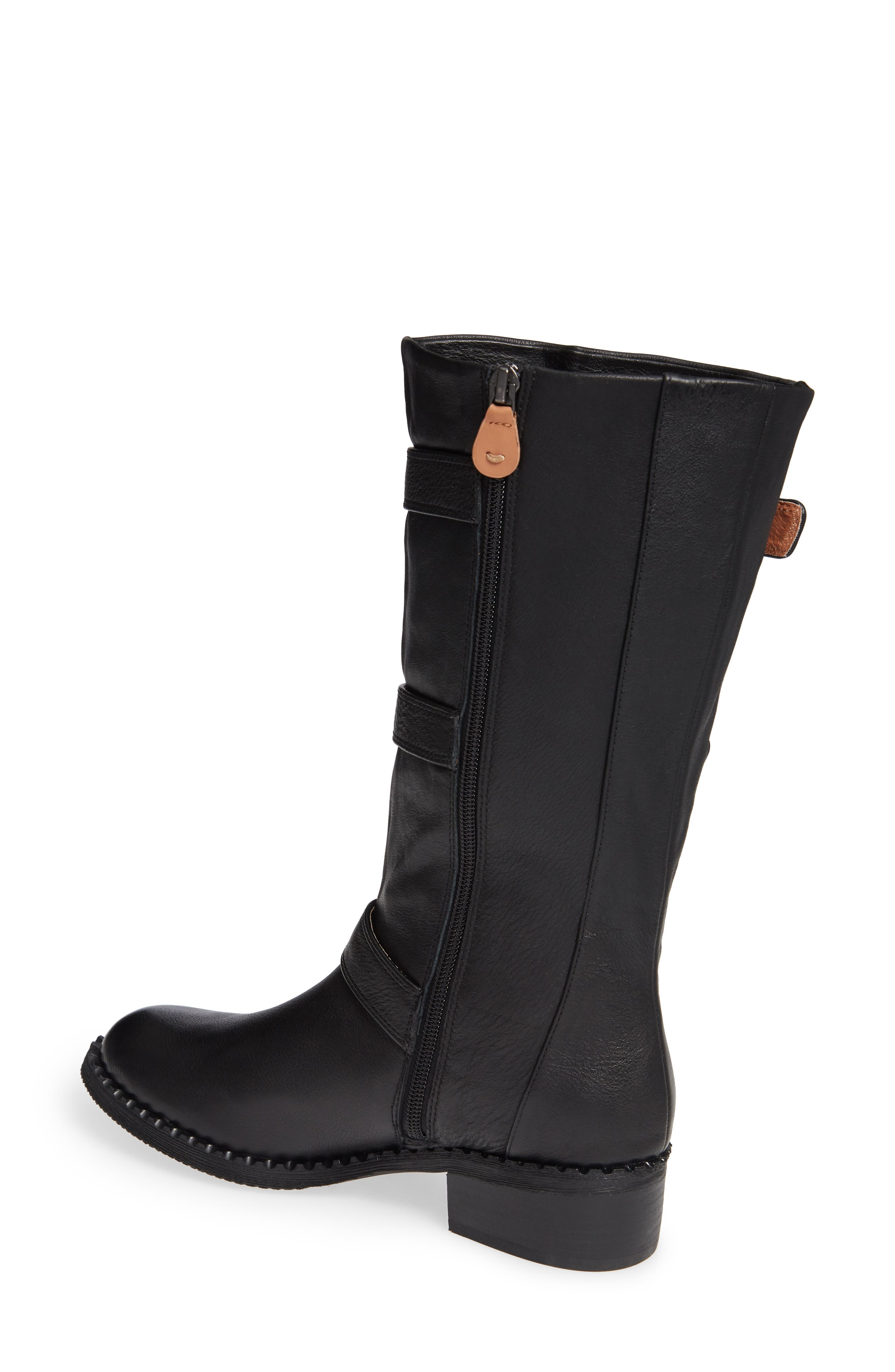 GENTLE SOULS BY KENNETH COLE, Best 3-Buckle Boot, Alternate thumbnail 2, color, 001