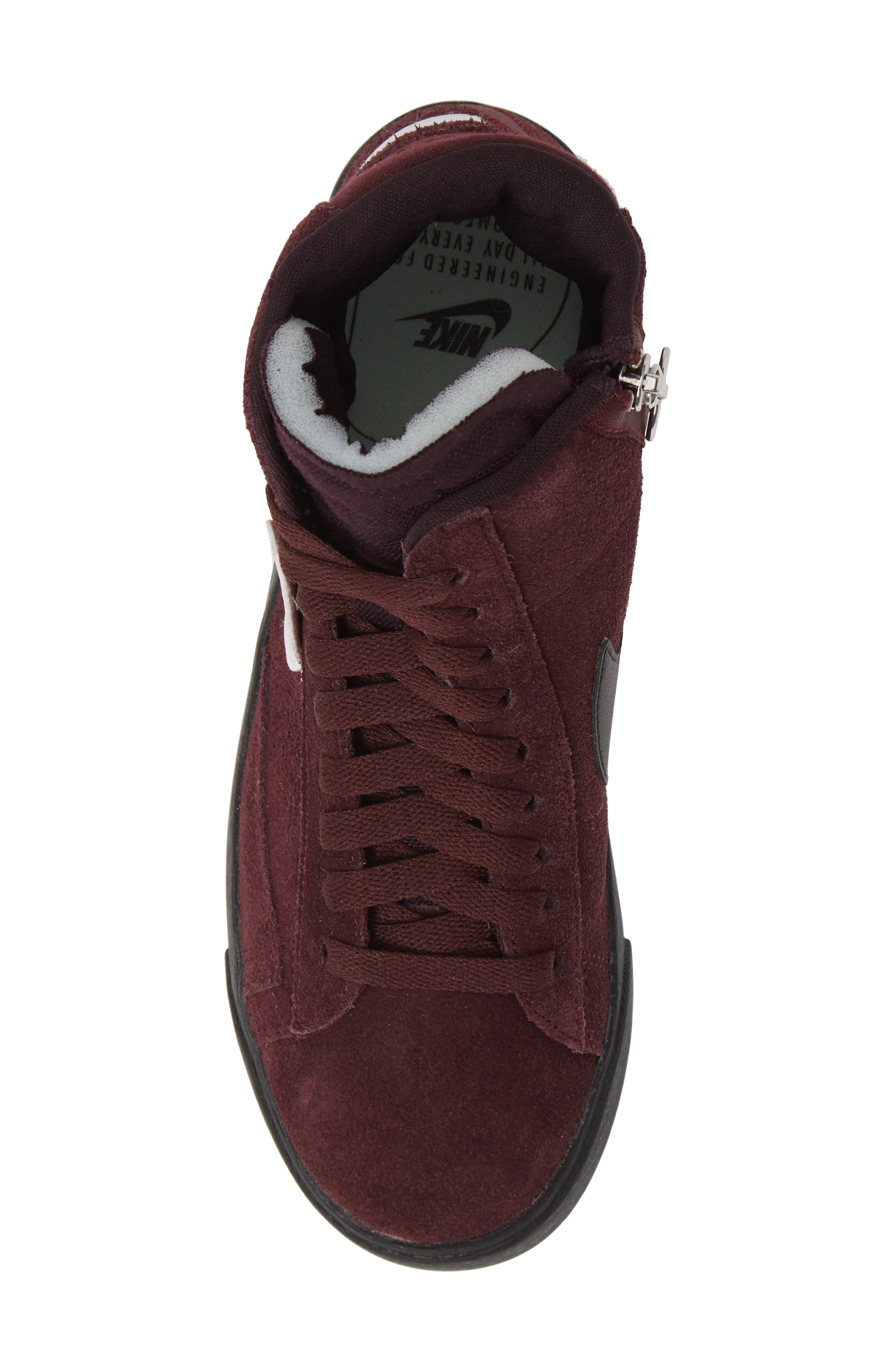 NIKE, Blazer Mid Rebel Sneaker, Alternate thumbnail 5, color, 930