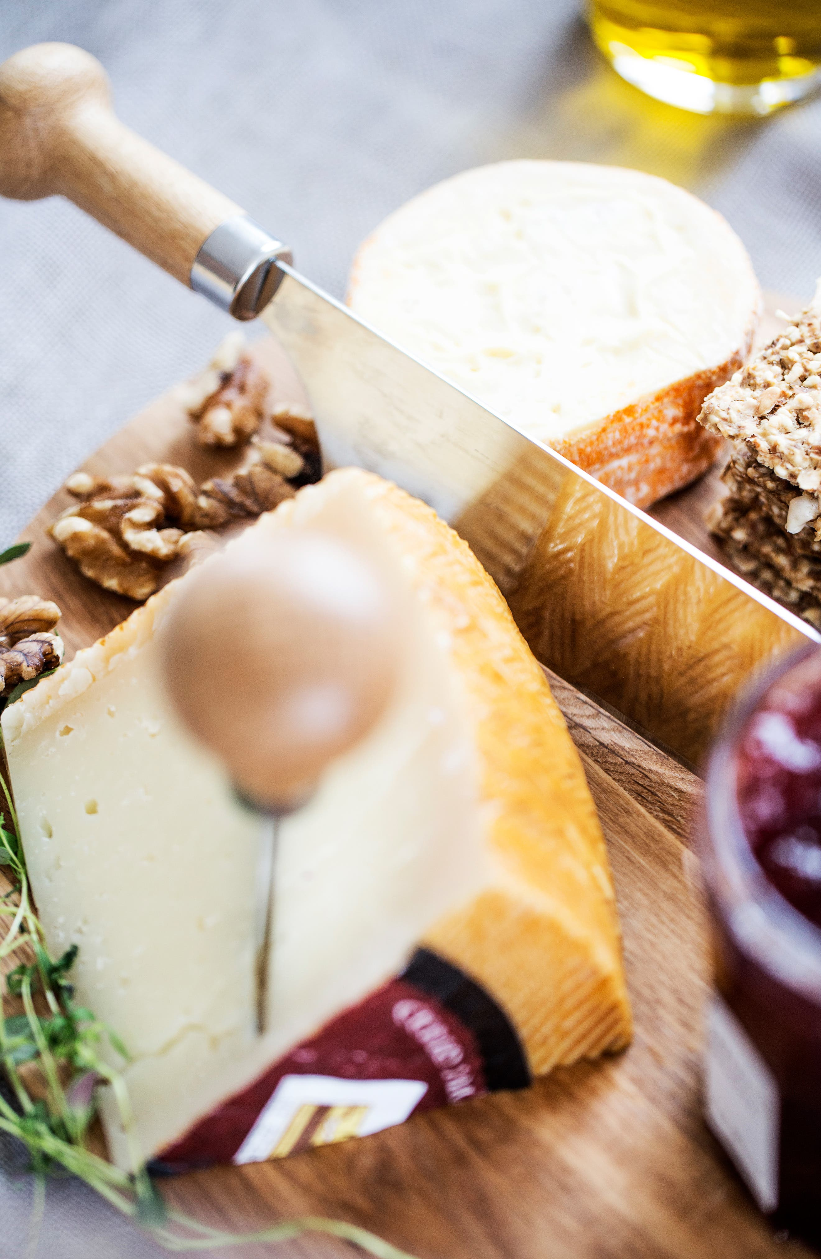 SAGAFORM, Hard Cheese Knife, Alternate thumbnail 3, color, WOOD