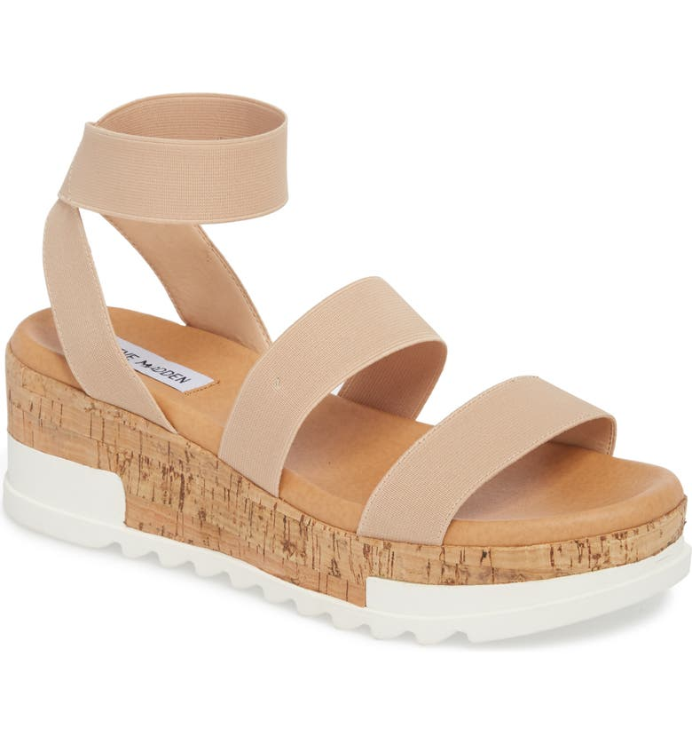 110ba7acb61 Steve Madden Bandi Platform Wedge Sandal In Blush