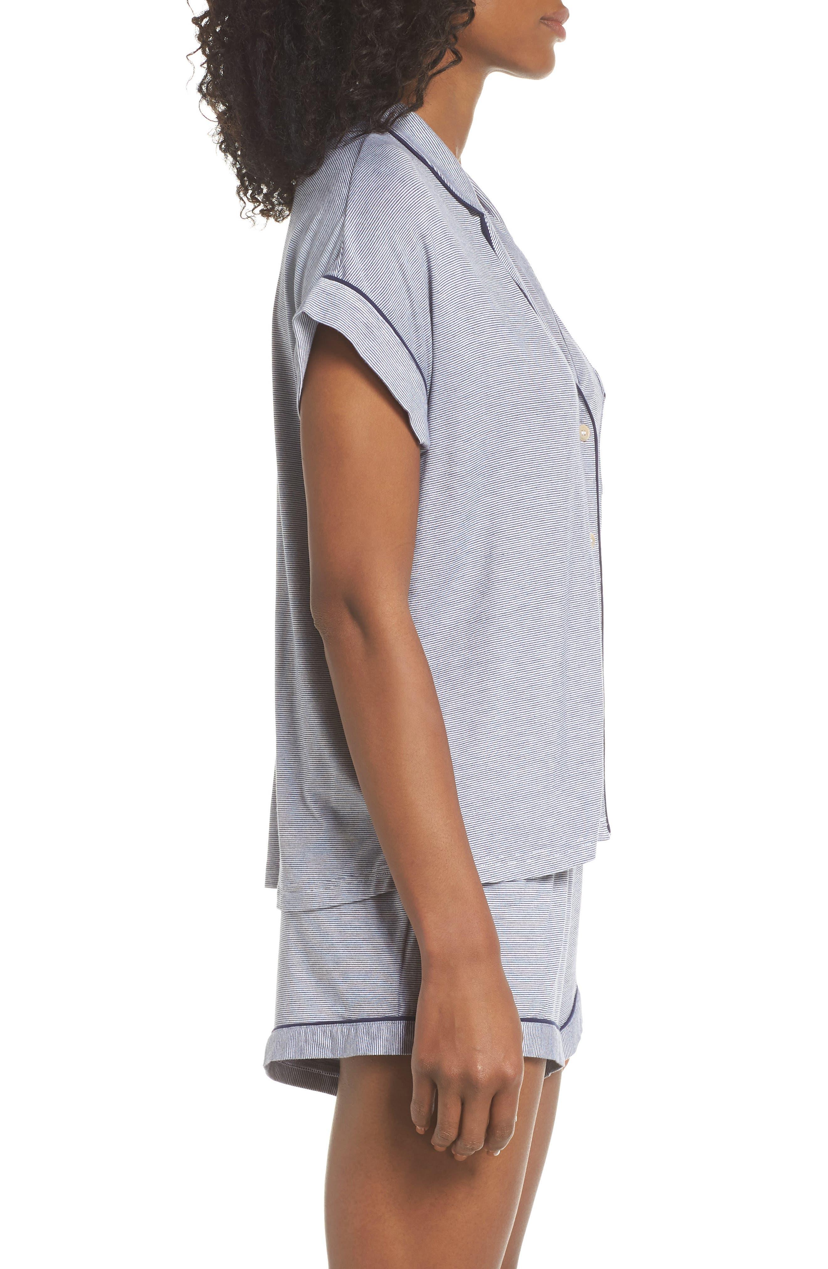UGG<SUP>®</SUP>, Amelia Short Pajamas, Alternate thumbnail 3, color, 411