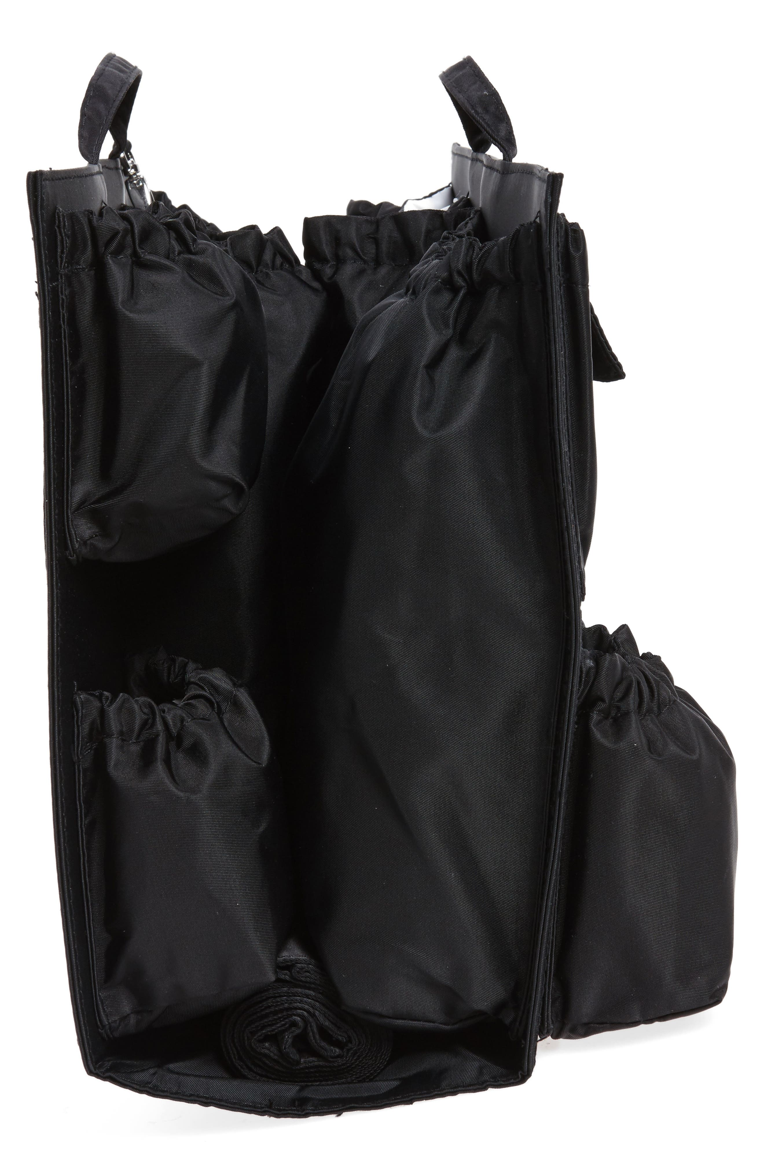 TOTESAVVY, Organization Handbag Insert, Alternate thumbnail 5, color, CLASSIC BLACK