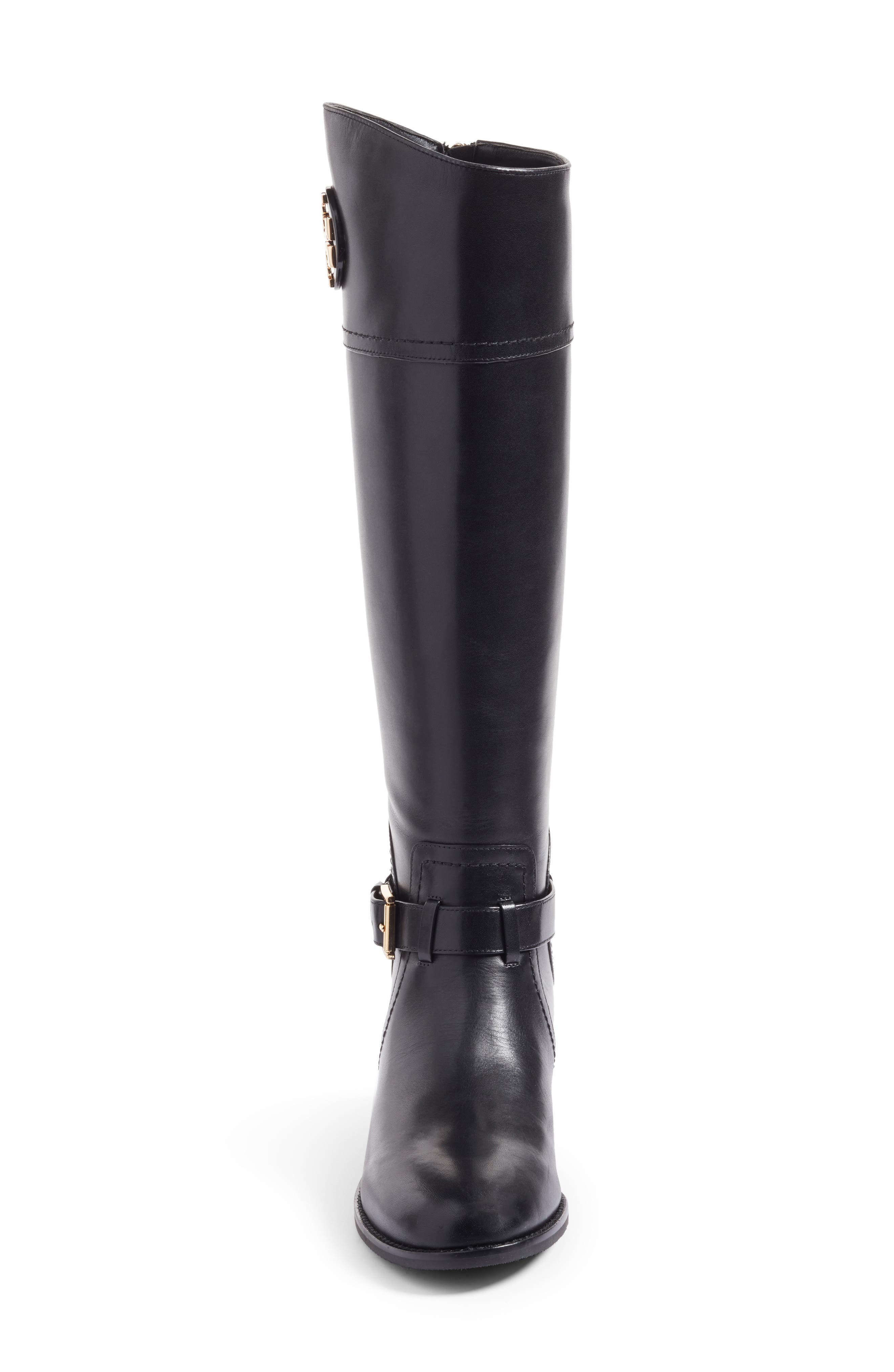 TORY BURCH, Adeline Boot, Alternate thumbnail 4, color, 001